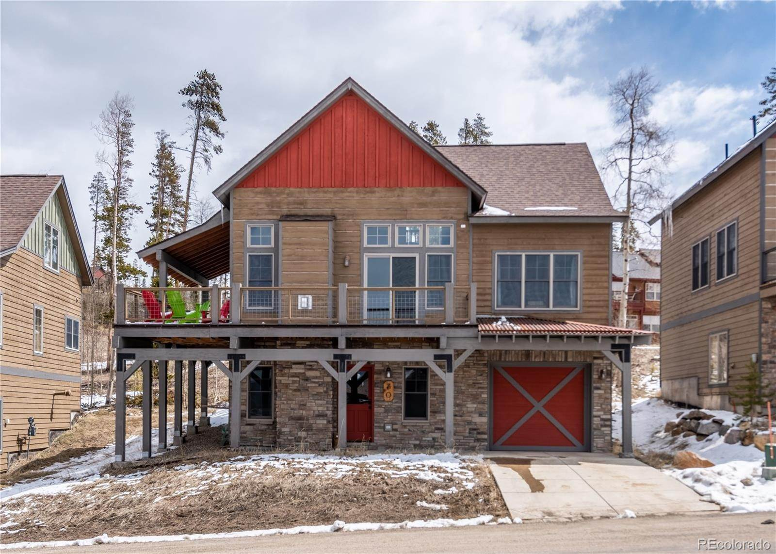 Single Family Homes pour l Vente à 30 Discovery Lane Fraser, Colorado 80442 États-Unis