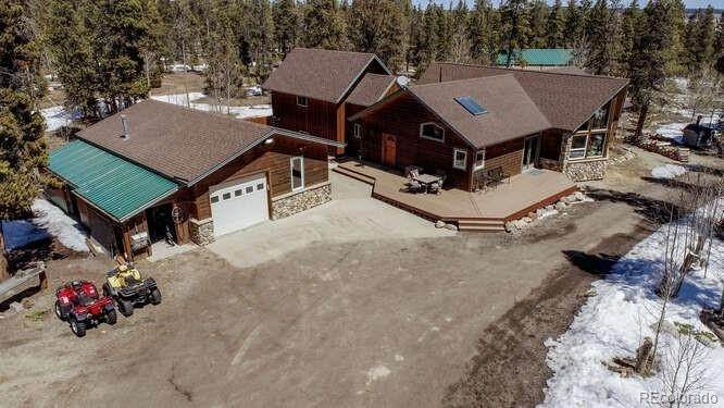 Single Family Homes for Sale at 350 Busch Run Road Fairplay, Colorado 80440 United States