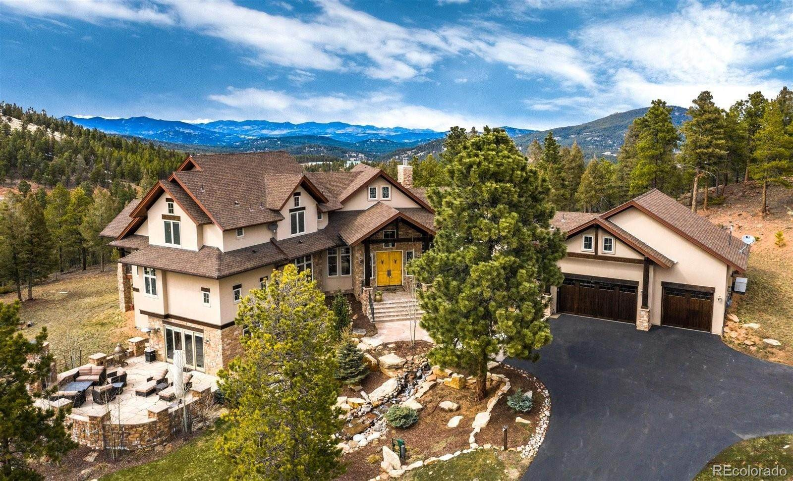 Single Family Homes for Sale at 11312 Belle Meade Drive Conifer, Colorado 80433 United States