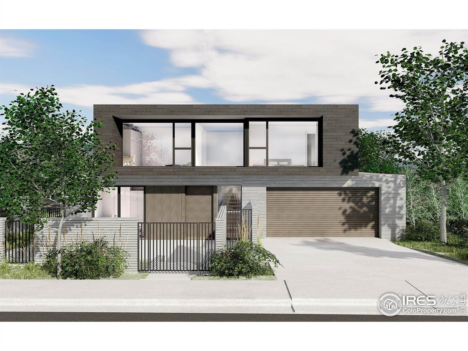 Single Family Homes pour l Vente à 2015 Balsam Drive Boulder, Colorado 80304 États-Unis