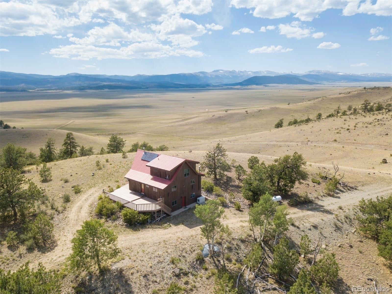 Single Family Homes por un Venta en 184 Deadman Road Hartsel, Colorado 80449 Estados Unidos