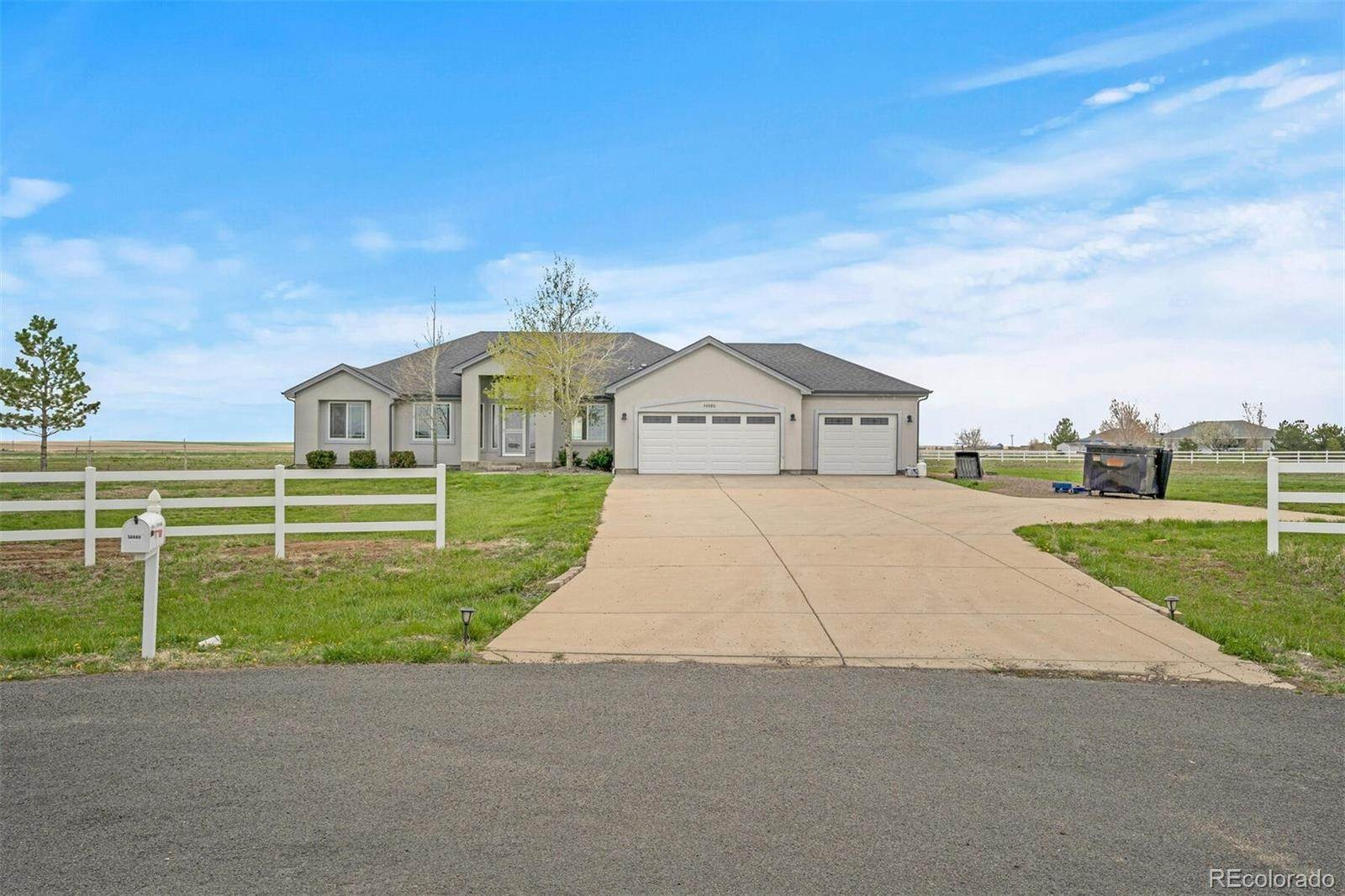 Single Family Homes por un Venta en 56880 E 37th Place Strasburg, Colorado 80136 Estados Unidos