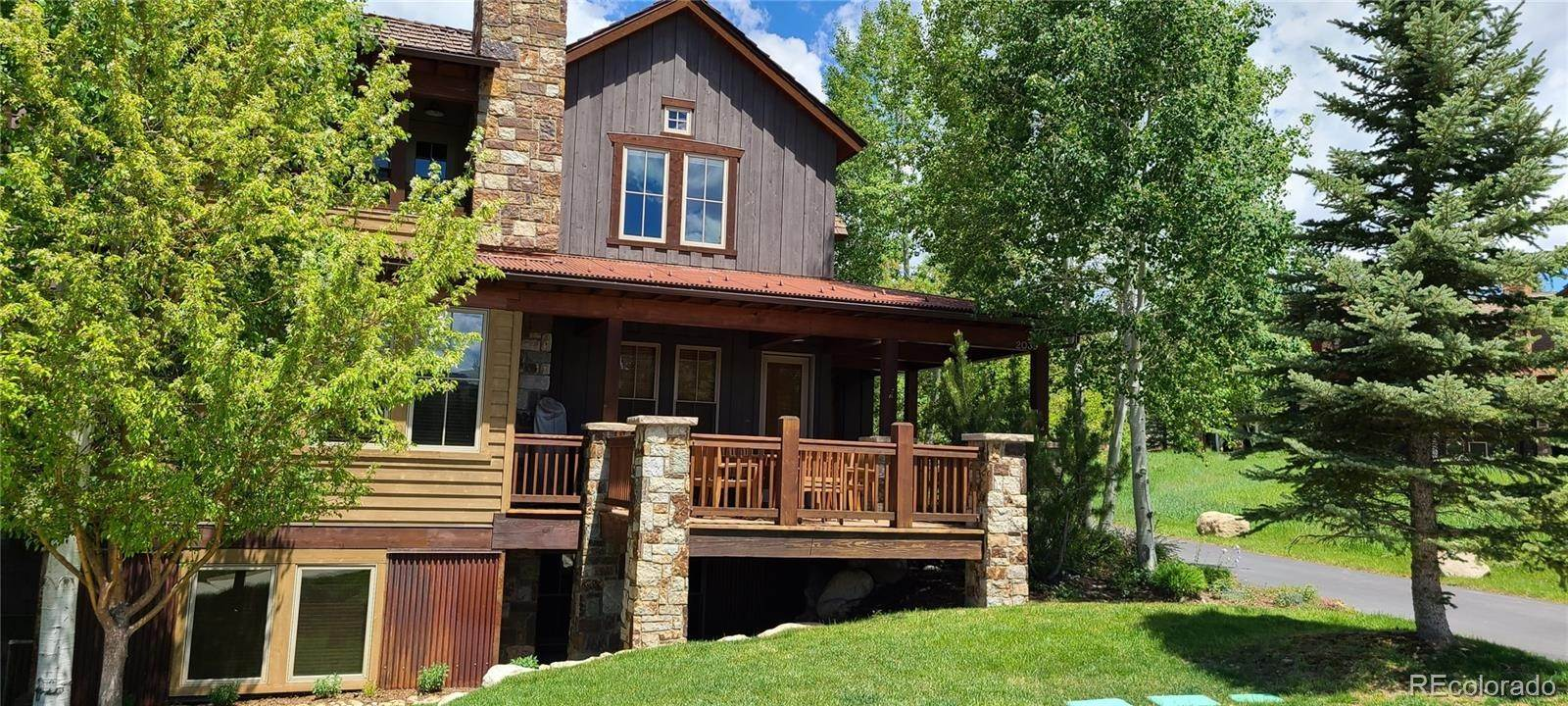 Single Family Homes for Sale at 2039 Indian Summer Drive Steamboat Springs, Colorado 80487 United States