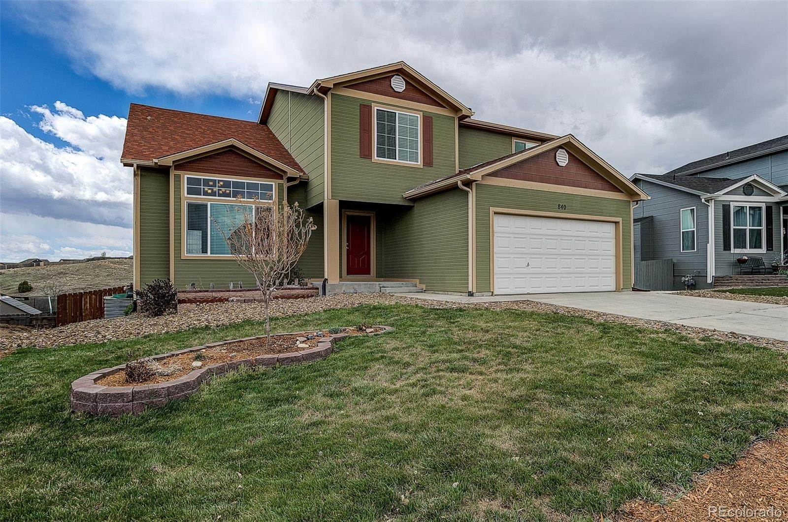 Single Family Homes por un Venta en 840 Winebrook Way Fountain, Colorado 80817 Estados Unidos
