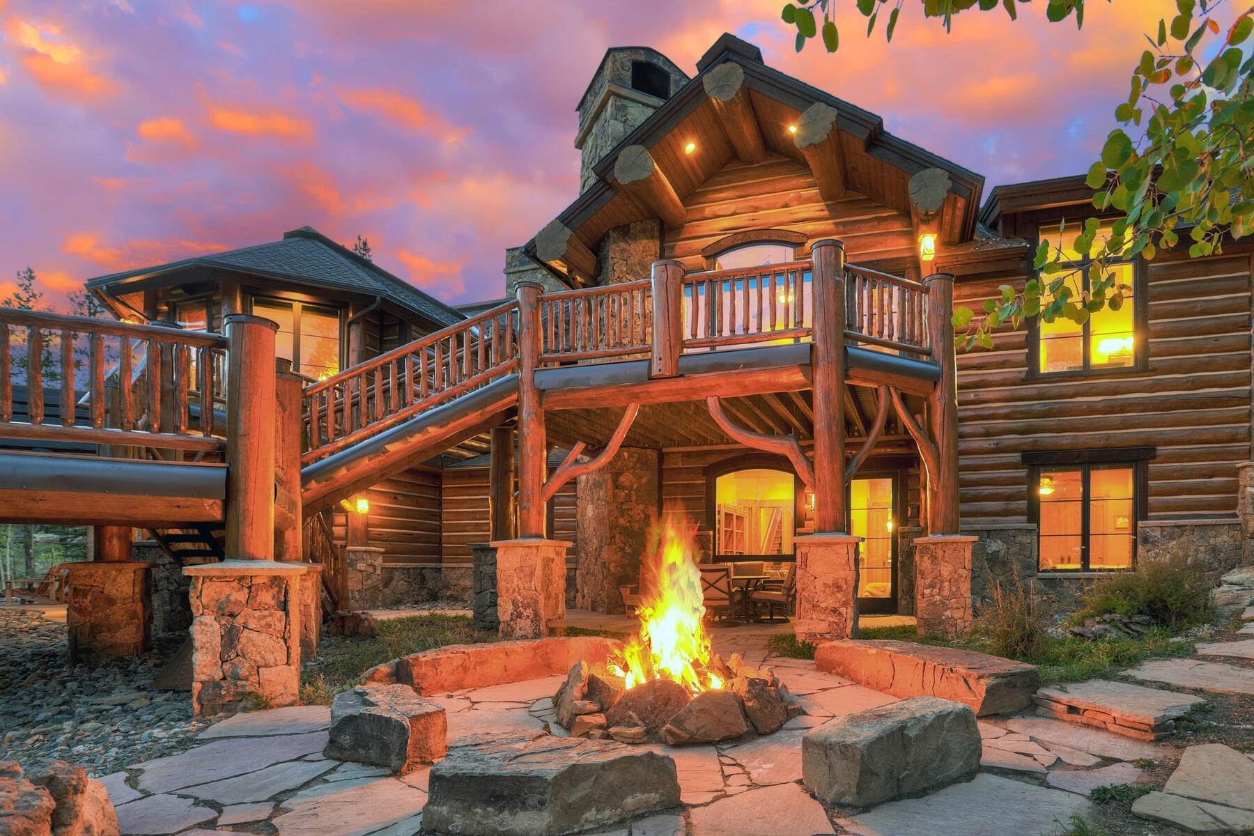 Single Family Homes pour l Vente à Grand Shock Hill Estate 56 Wild Cat Road Breckenridge, Colorado 80424 États-Unis