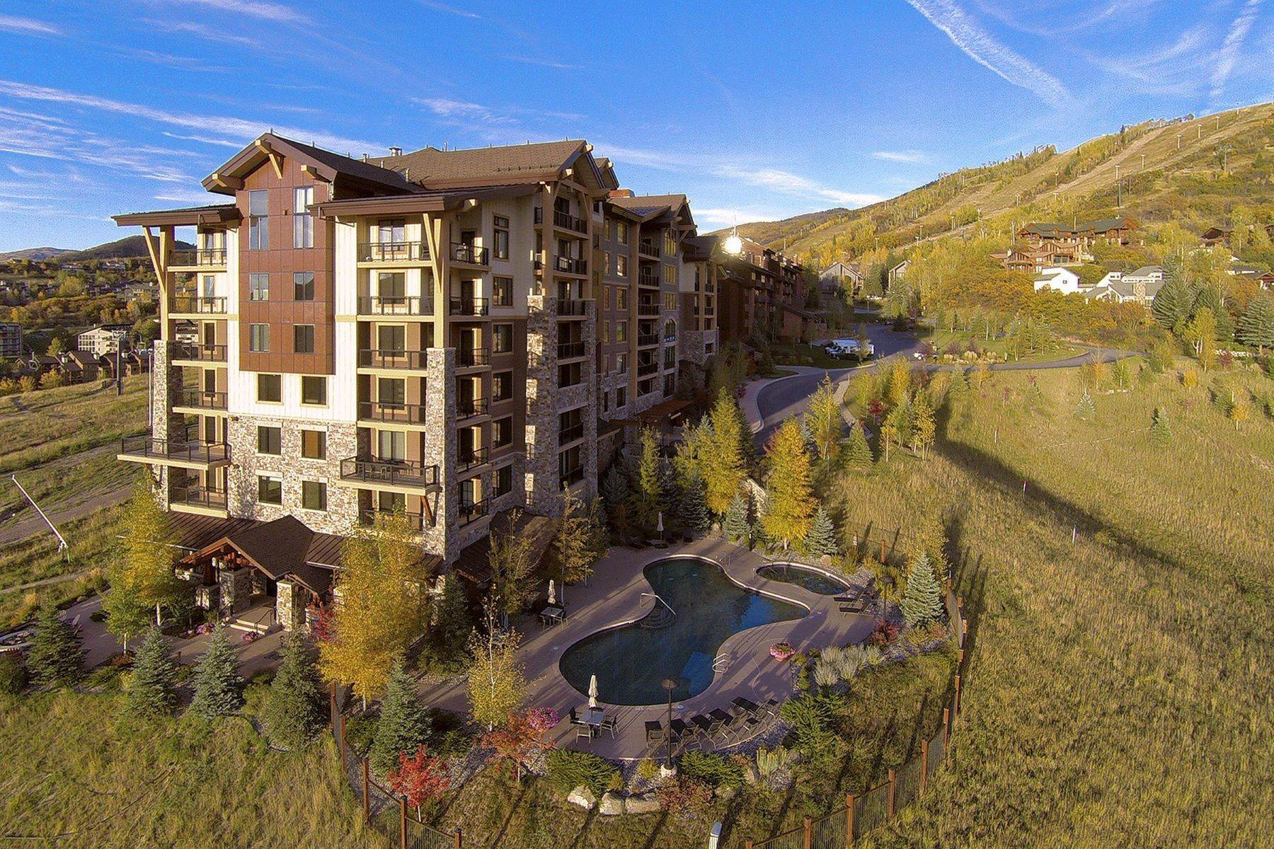 33. Condominiums for Sale at Slopeside Luxury at Edgemont 2410 Ski Trail Lane Unit #2407 Steamboat Springs, Colorado 80487 United States