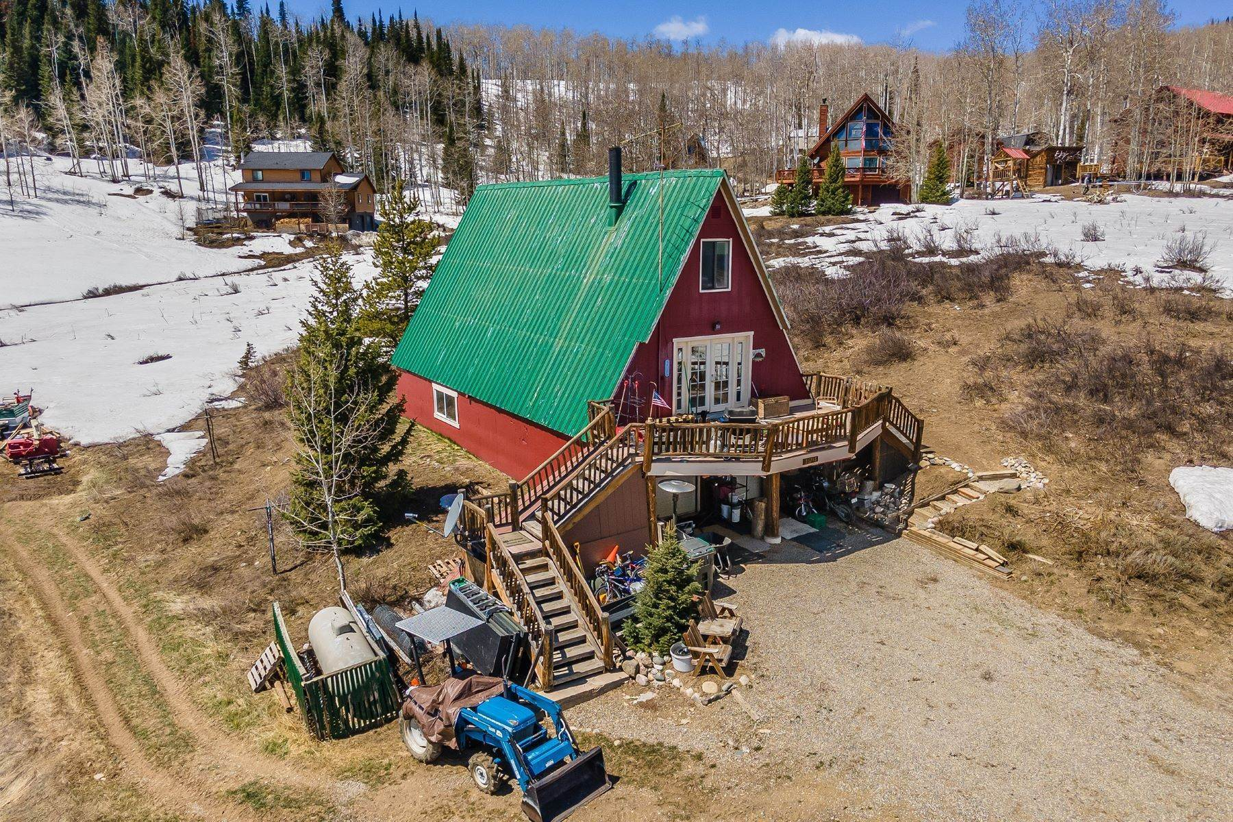 Single Family Homes for Sale at North Routt A-Frame 26745 Neptune Place Clark, Colorado 80428 United States