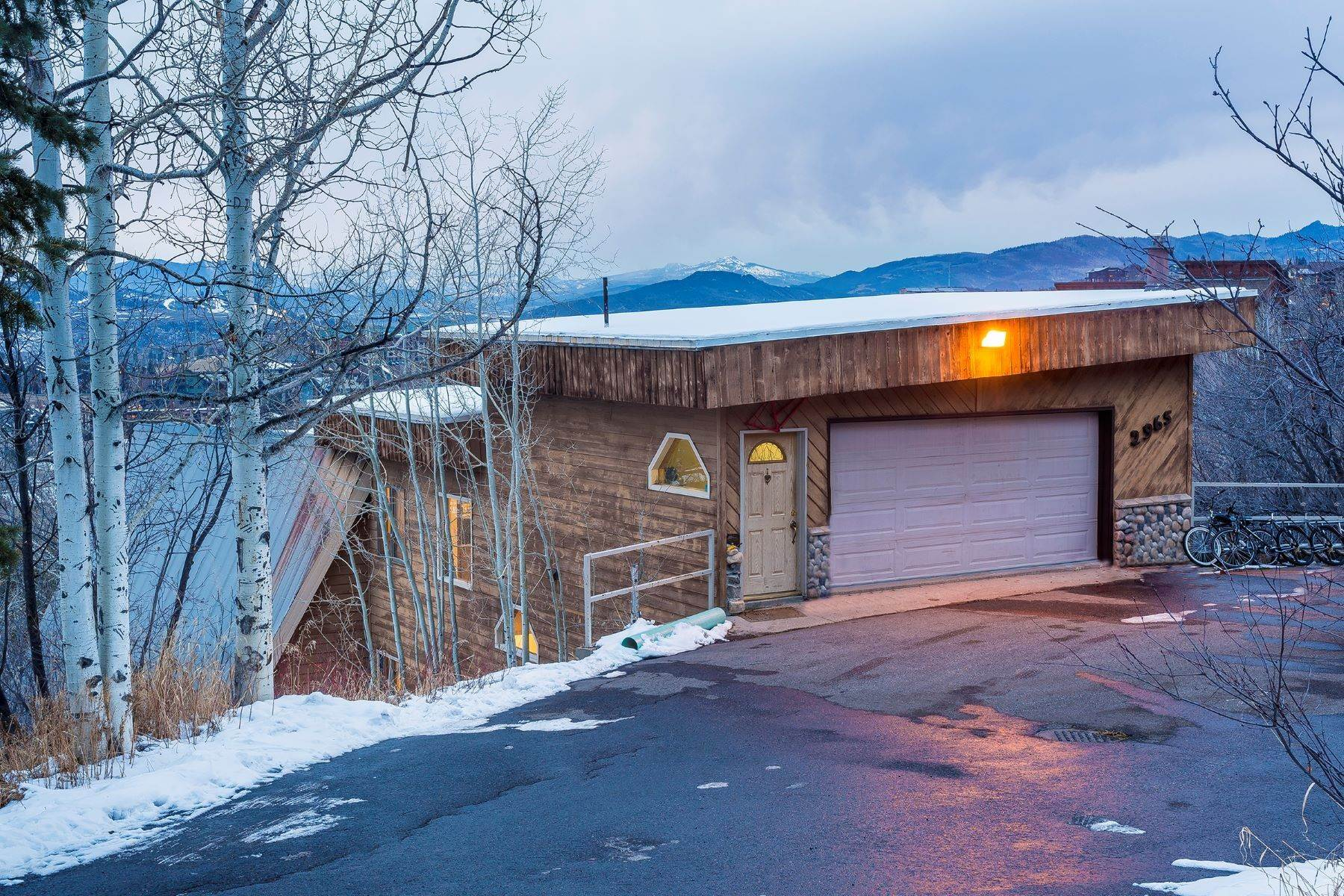 Single Family Homes for Sale at Incredible redevelopment opportunity and/or income producing investment! 2965 Ski Trail Lane Steamboat Springs, Colorado 80487 United States