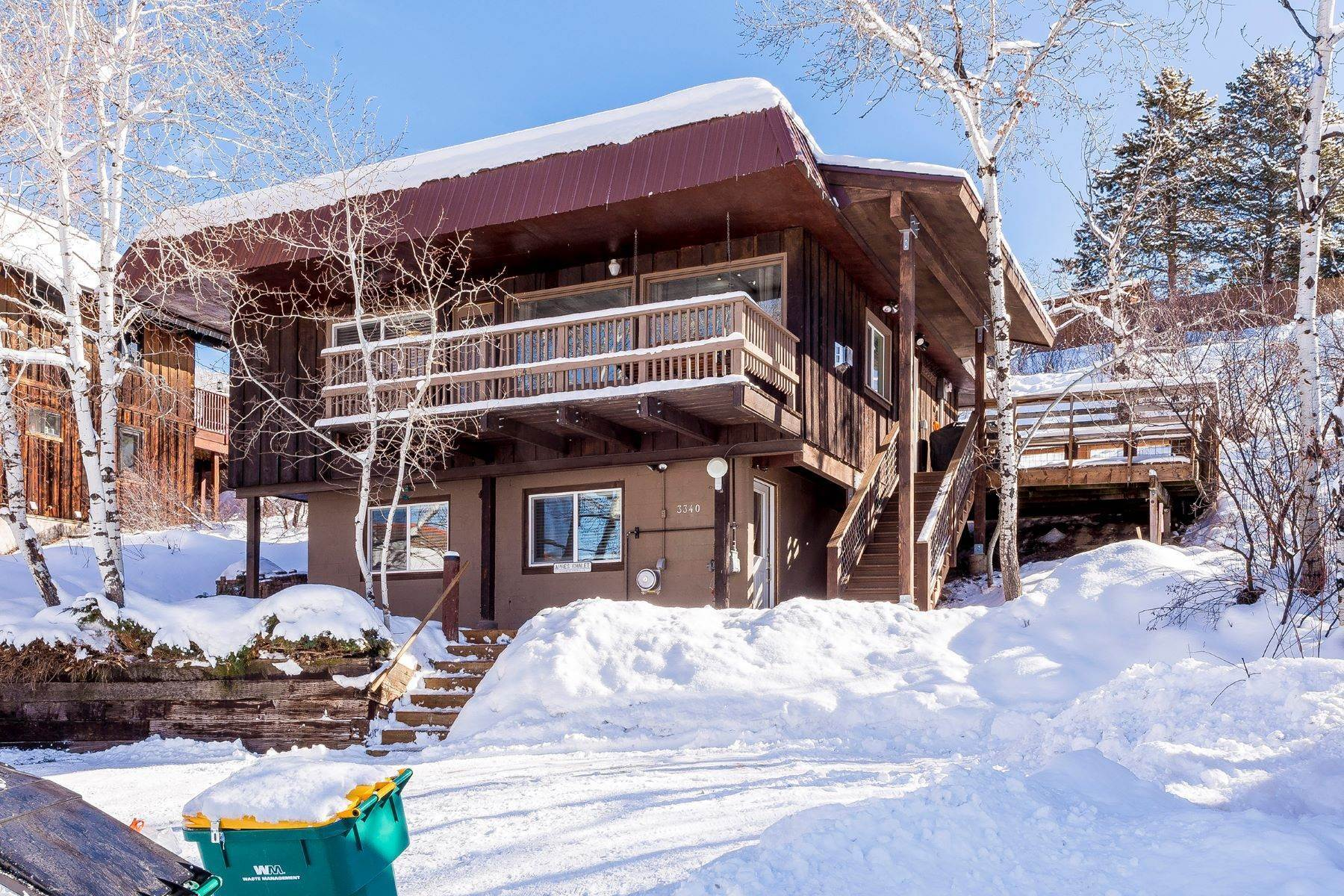 27. Duplex Homes for Sale at Apres Ski Duplex 3340 Apres Ski Way Steamboat Springs, Colorado 80487 United States