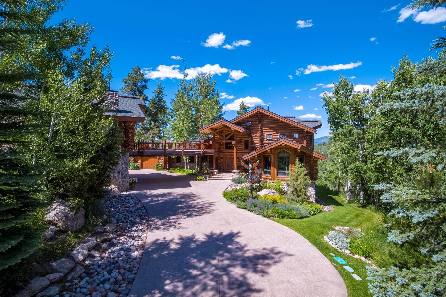 Single Family Homes por un Venta en Aspenglen 27800 Wapiti Way Steamboat Springs, Colorado 80487 Estados Unidos