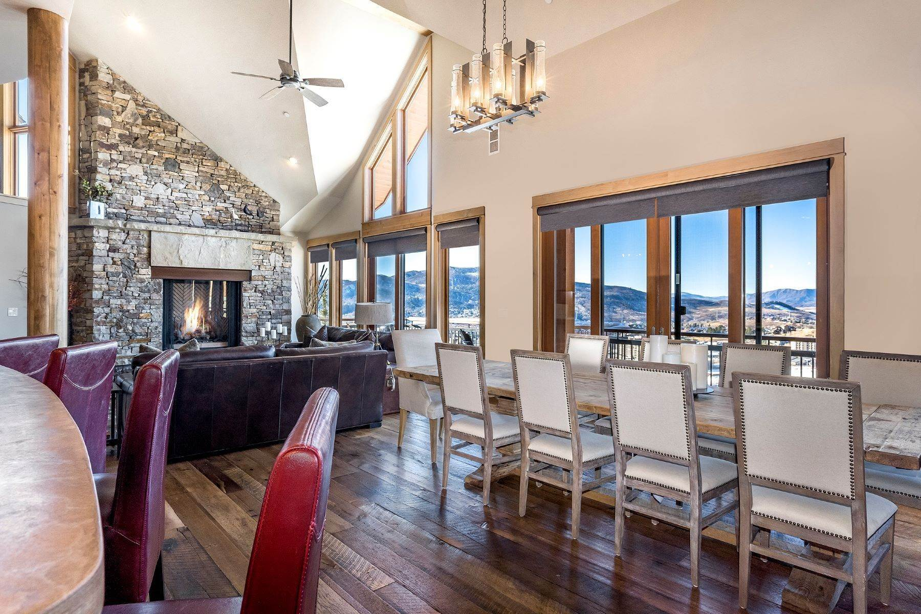 7. Single Family Homes 为 销售 在 Luxury Mountain Retreat Falconhead North 2605 Ski Trail Lane ????????, ????? 80587 ??