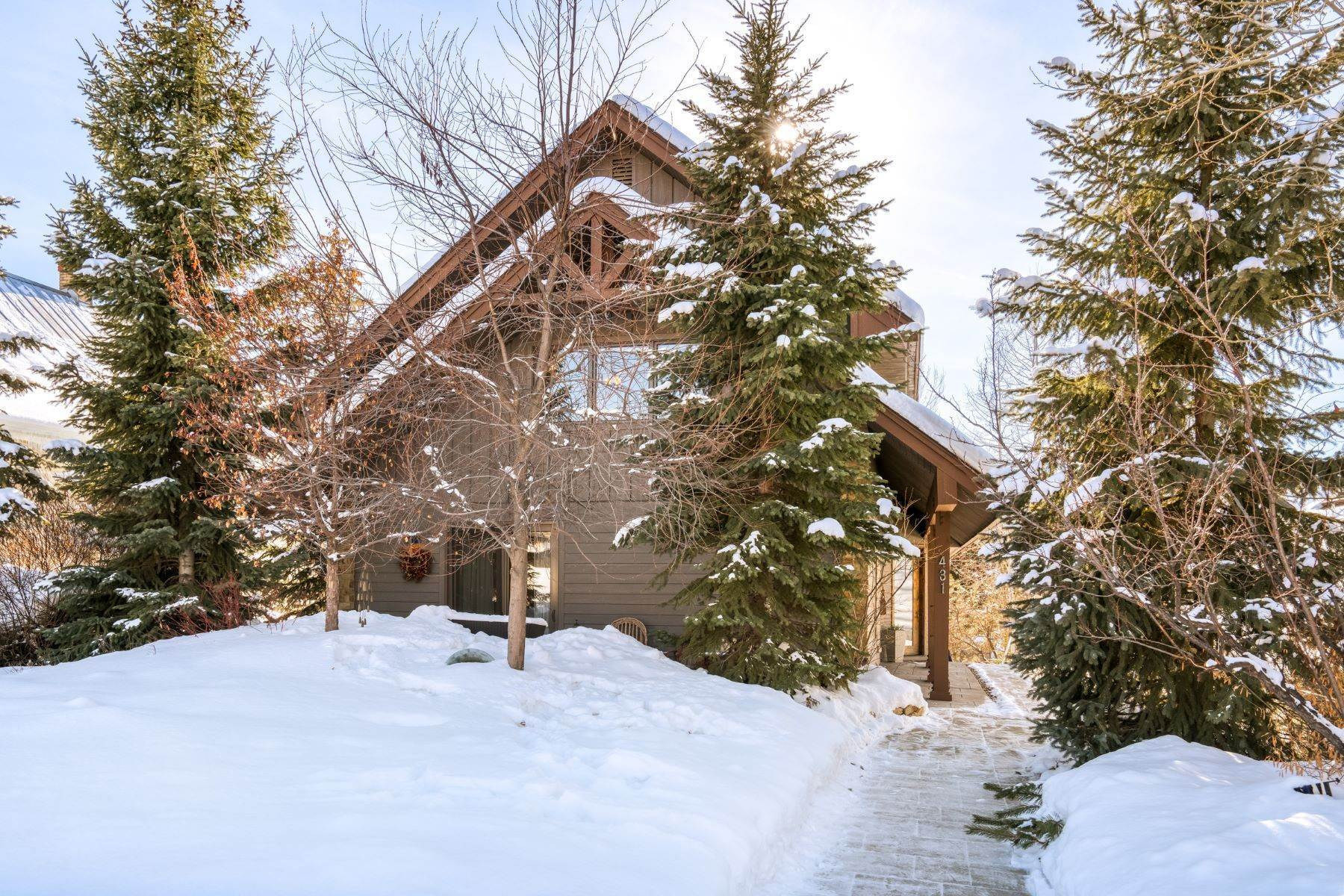 Property for Sale at Downtown Steamboat Home 431 Pine Street Steamboat Springs, Colorado 80487 United States