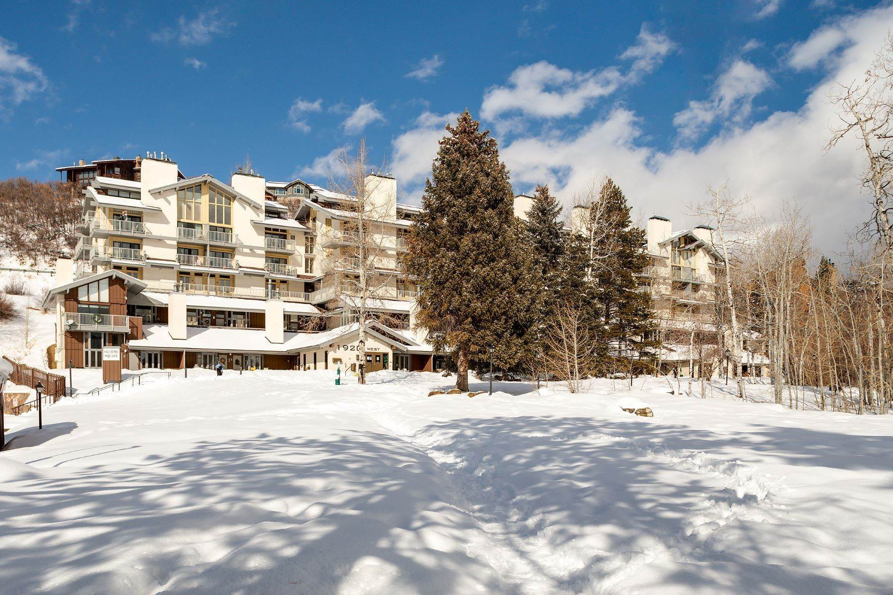 Condominiums for Sale at Ski Time Square Condominiums 1920 Ski Time Square Unit# 311 Steamboat Springs, Colorado 80487 United States