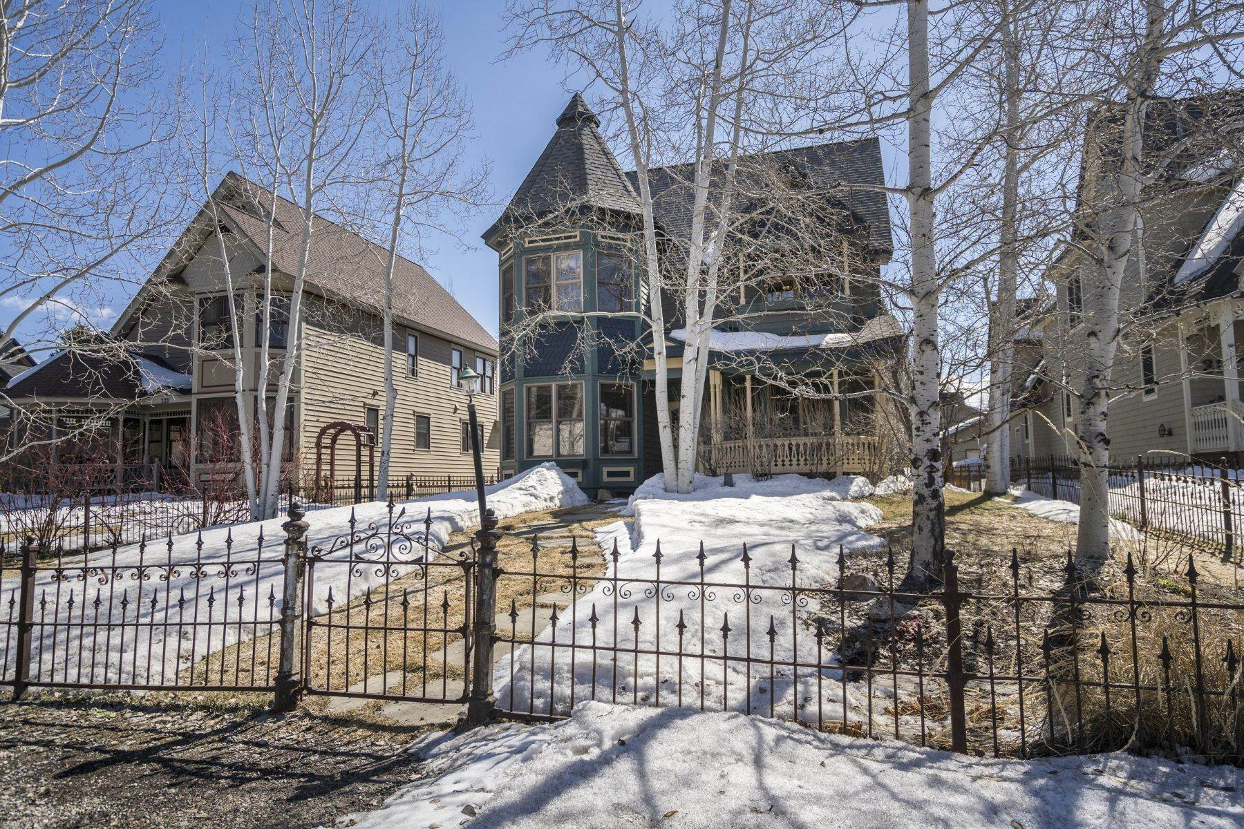 Single Family Homes for Sale at Victorian-style home in the center of downtown Steamboat 320 9th Street Steamboat Springs, Colorado 80487 United States