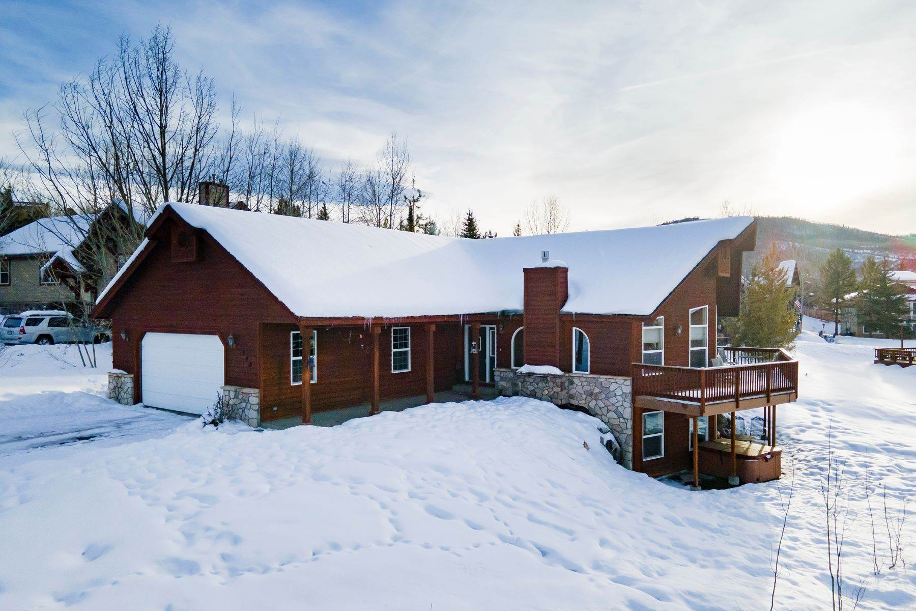 Property for Sale at Fish Creek Falls Area Home 340 Apple Drive Steamboat Springs, Colorado 80487 United States