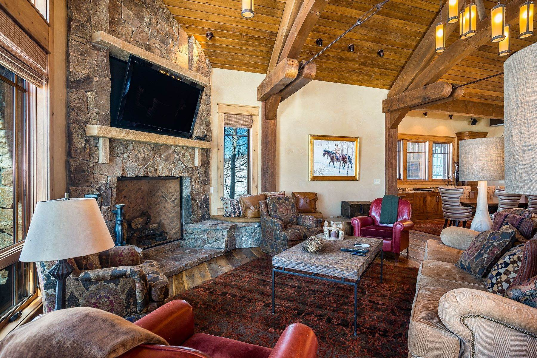 7. Single Family Homes for Sale at Beautiful Home at Catamount Ranch 33640 Catamount Drive Steamboat Springs, Colorado 80487 United States