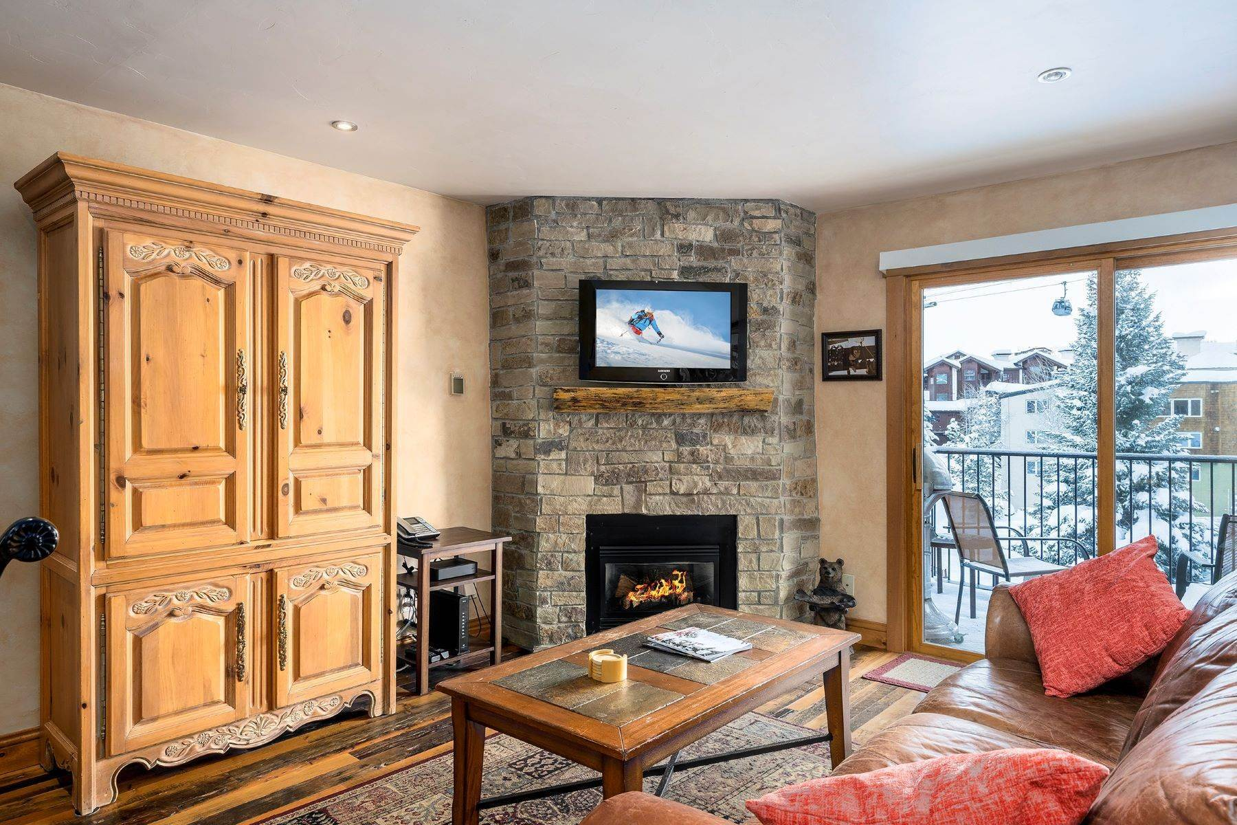 Condominiums for Sale at Ski Inn Condominium 2350 Ski Trail Court Unit# 111 Steamboat Springs, Colorado 80487 United States
