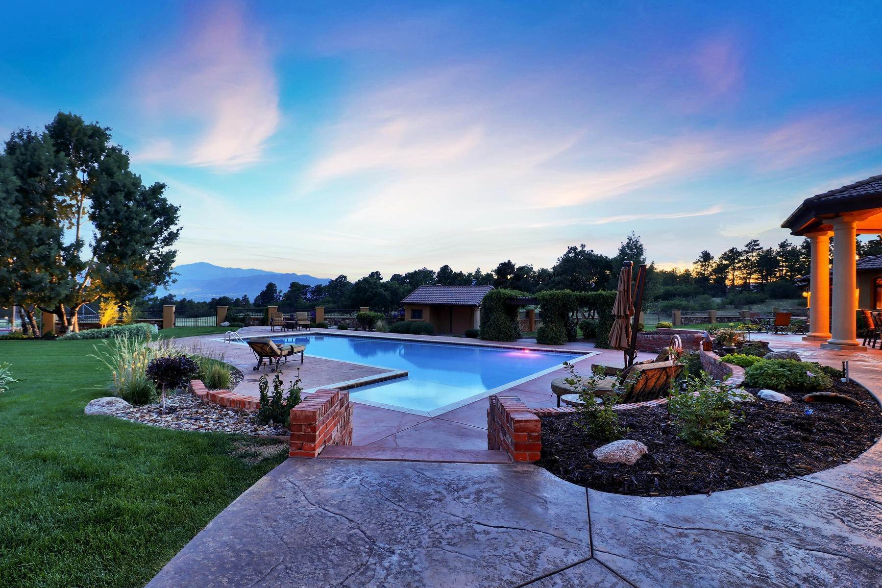 Single Family Homes for Sale at Tuscan Estate 12795 Oak Cliff Way Colorado Springs, Colorado 80908 United States