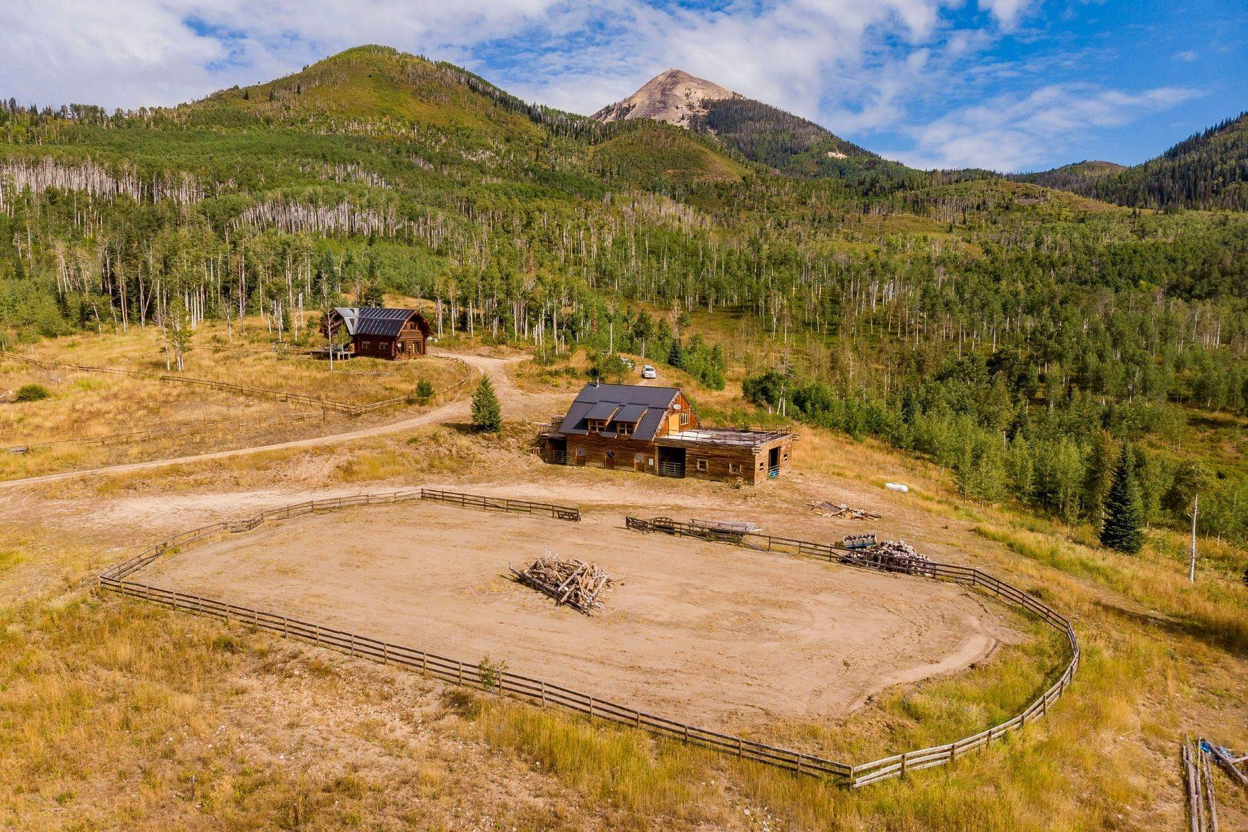 20. Single Family Homes for Sale at Triple M Ranch 26200 Fsr 409 Clark, Colorado 80428 United States