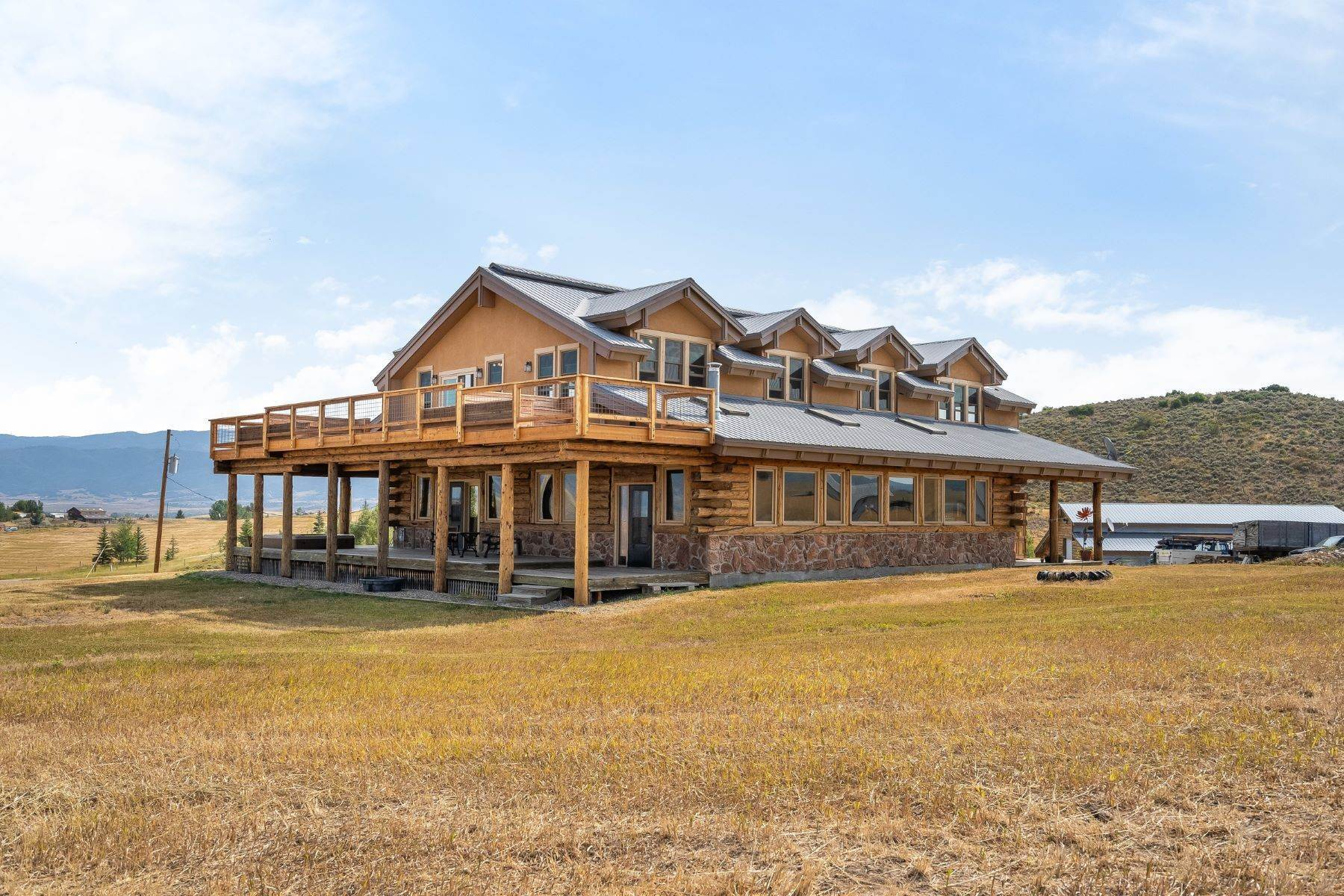 8. Single Family Homes for Sale at 38615 Klein Road Steamboat Springs, Colorado 80487 United States