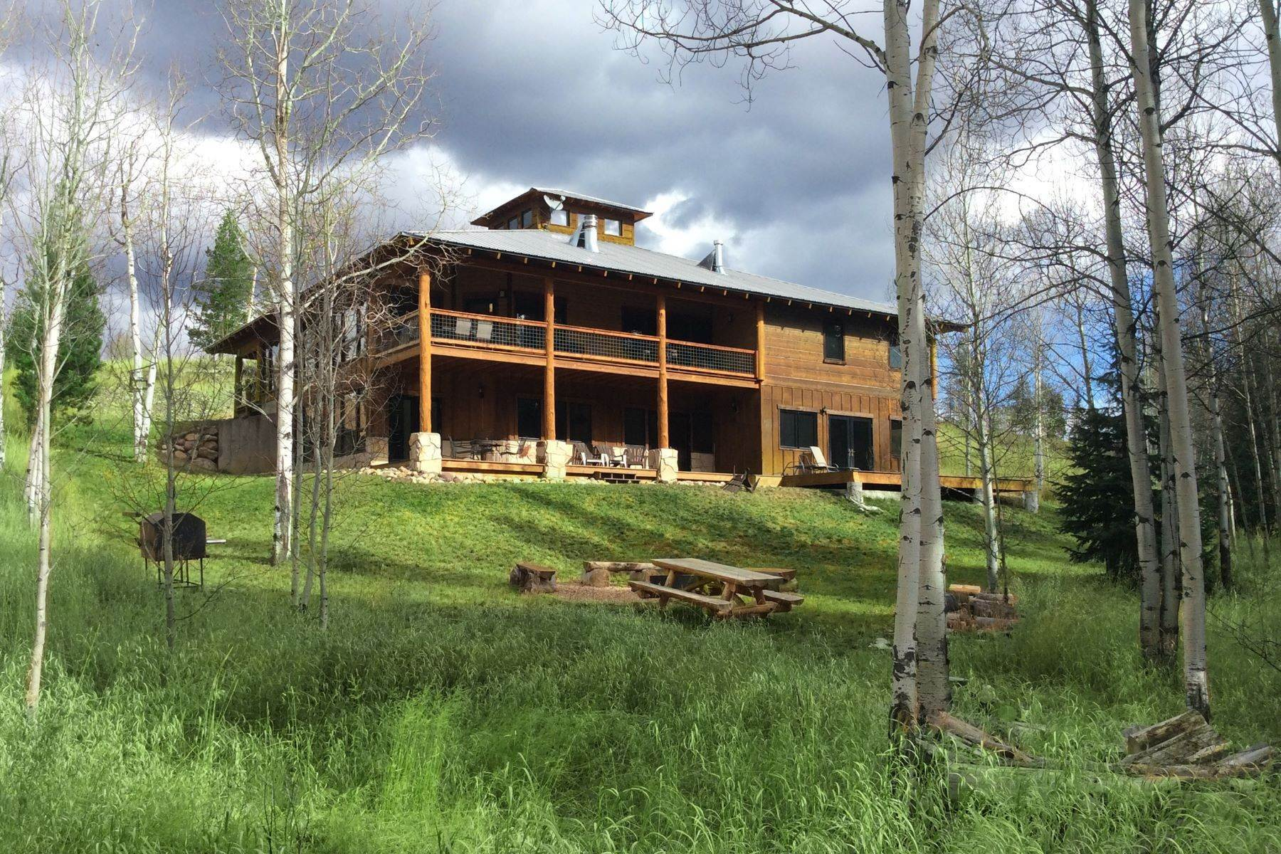 Single Family Homes for Sale at Stagecoach Seclusion 32935 & 32950 Maverick Way Oak Creek, Colorado 80467 United States