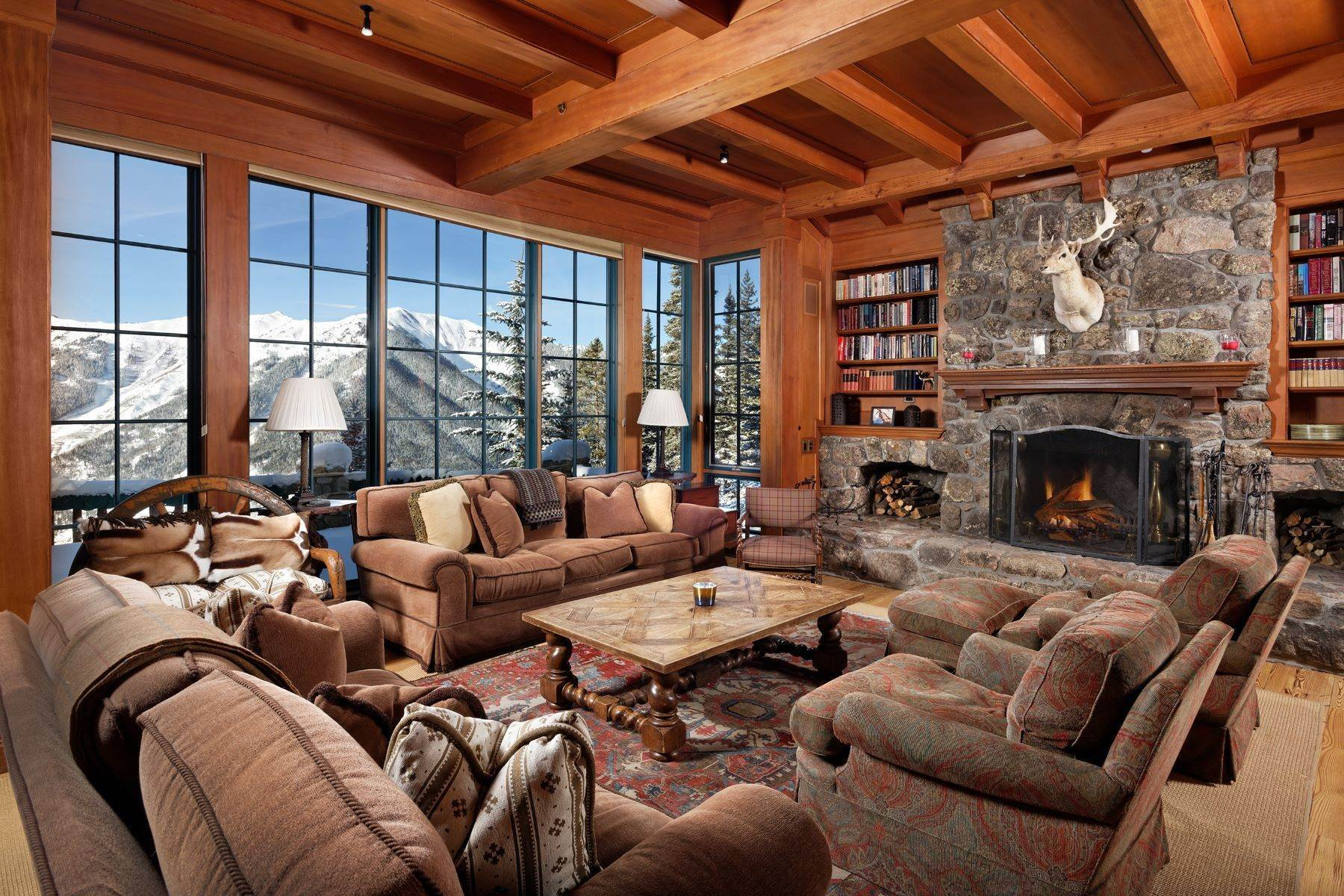 Single Family Homes for Sale at Aspen Mountain Chalet 3340, 4100, 4150 Midnight Mine Road Aspen, Colorado 81611 United States