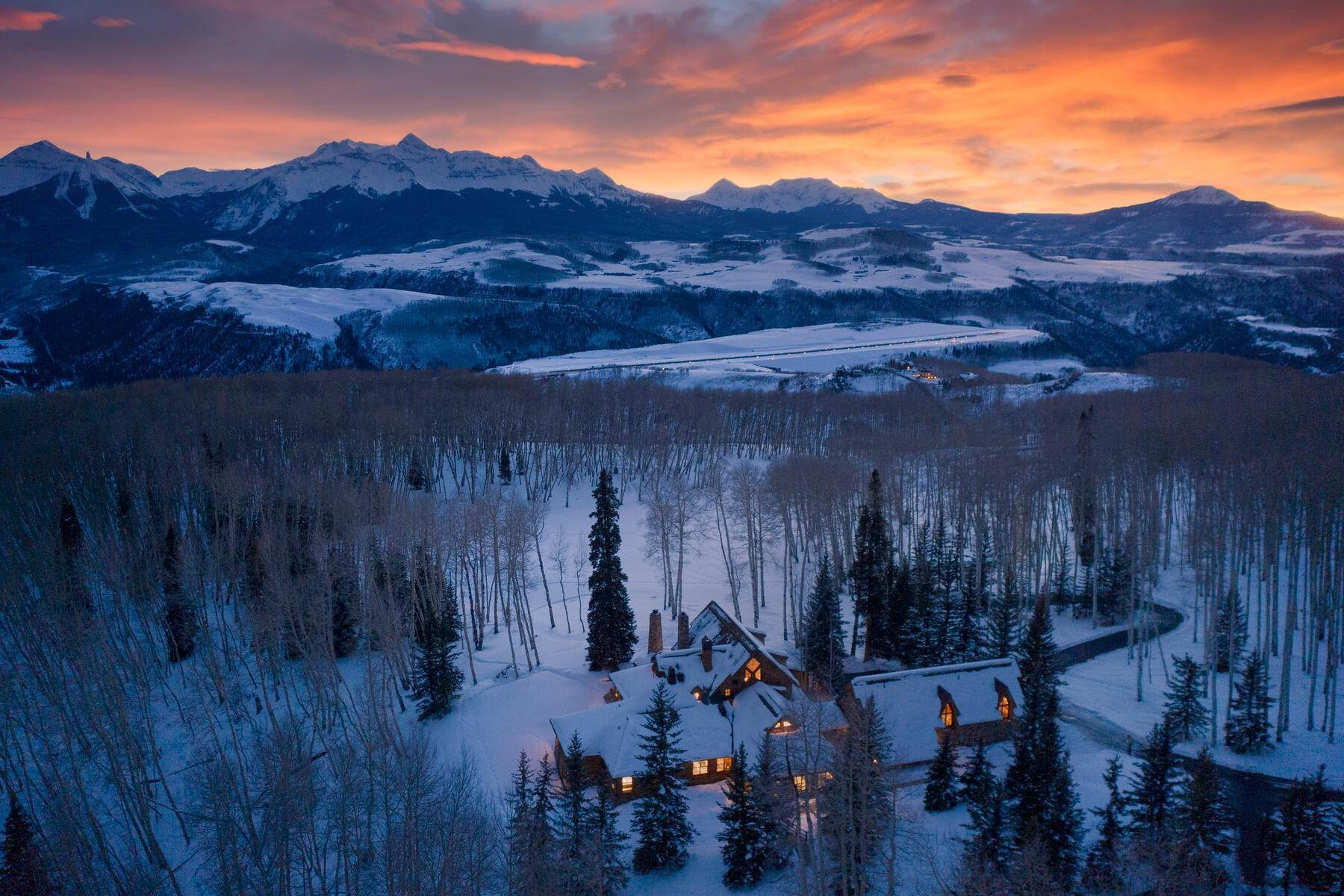 Single Family Homes for Sale at Luxury Meets Legend 115 Francisco Way Telluride, Colorado 81435 United States