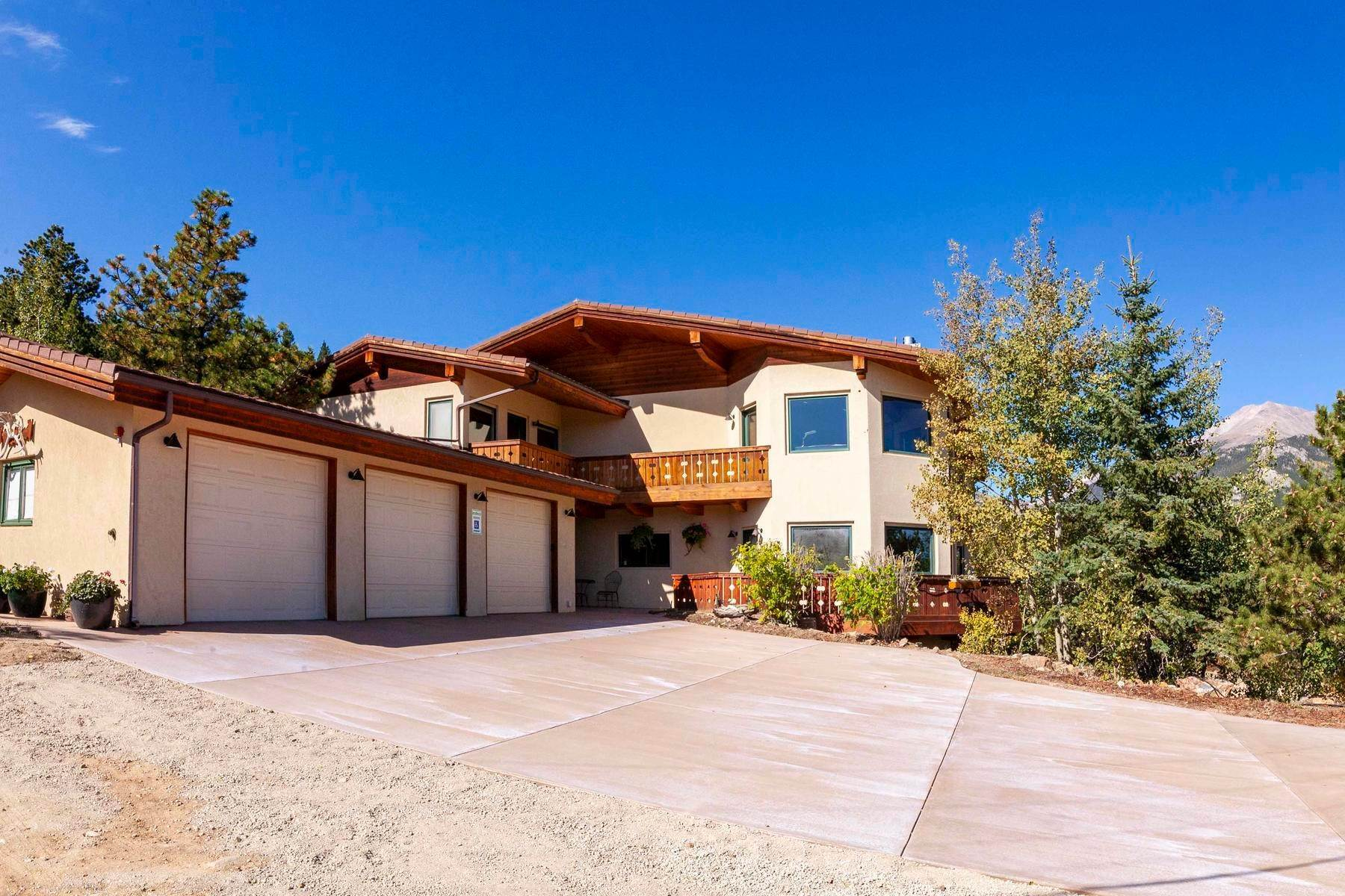 Single Family Homes 为 销售 在 Beautiful Mountain Property 14321 Peak To Peak Hwy Allenspark, 科罗拉多州 80510 美国