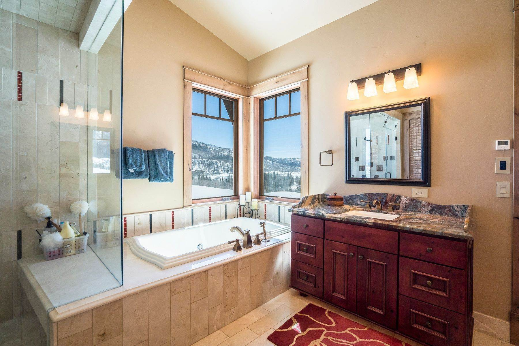 15. Single Family Homes for Sale at Beautiful Home at Catamount Ranch 33640 Catamount Drive Steamboat Springs, Colorado 80487 United States