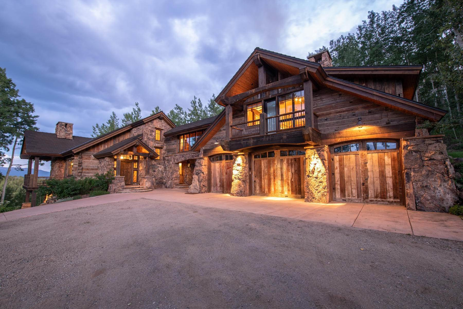 Single Family Homes for Sale at Breathtaking Home in Red Mountain Ranch 1515 Red Mountain Ranch Road Crested Butte, Colorado 81224 United States