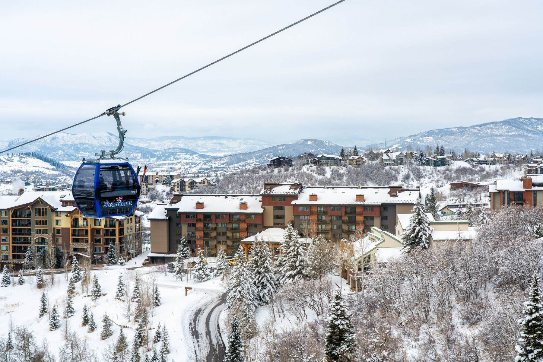 Condominiums for Sale at Bear Claw Ski-In Ski -Out Condominium 2420 Ski Trail Lane Unit #514 Steamboat Springs, Colorado 80487 United States