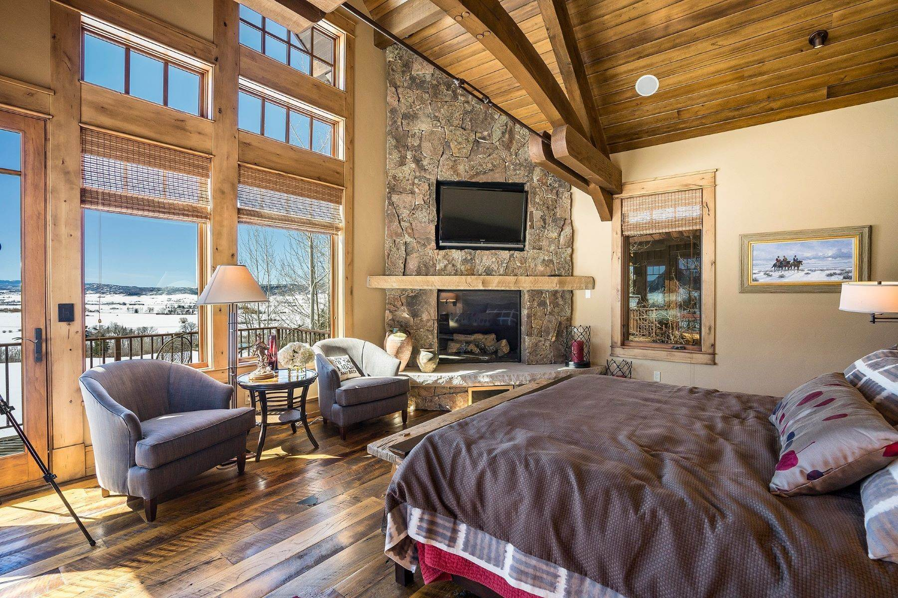 14. Single Family Homes for Sale at Beautiful Home at Catamount Ranch 33640 Catamount Drive Steamboat Springs, Colorado 80487 United States