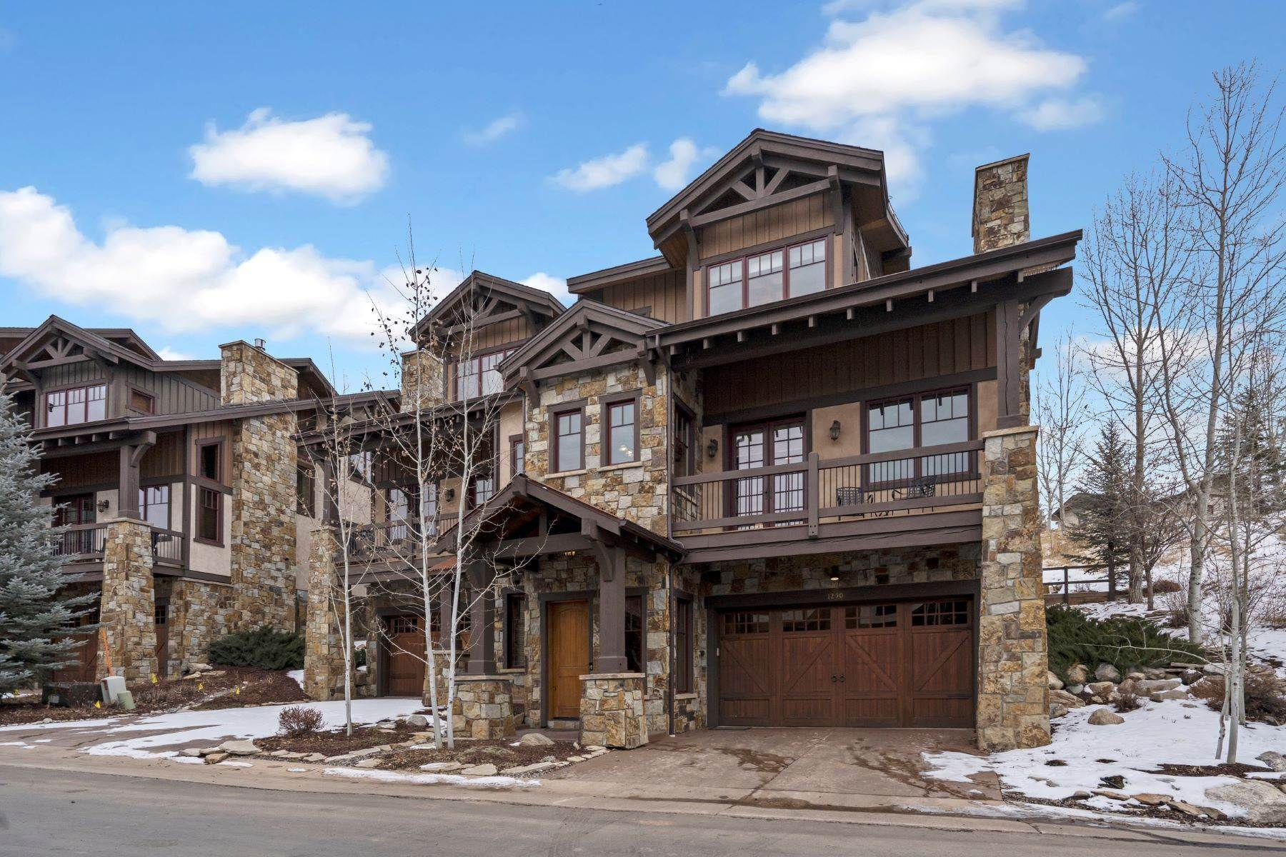 townhouses for Sale at Stonewood at Eagleridge Townhome 1250 Eagle Glen Drive Steamboat Springs, Colorado 80487 United States