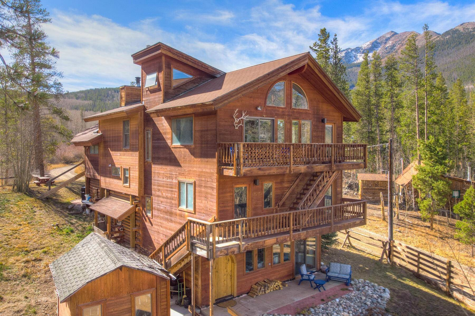 Single Family Homes pour l Vente à 98 E Ophir Road Frisco, Colorado 80443 États-Unis