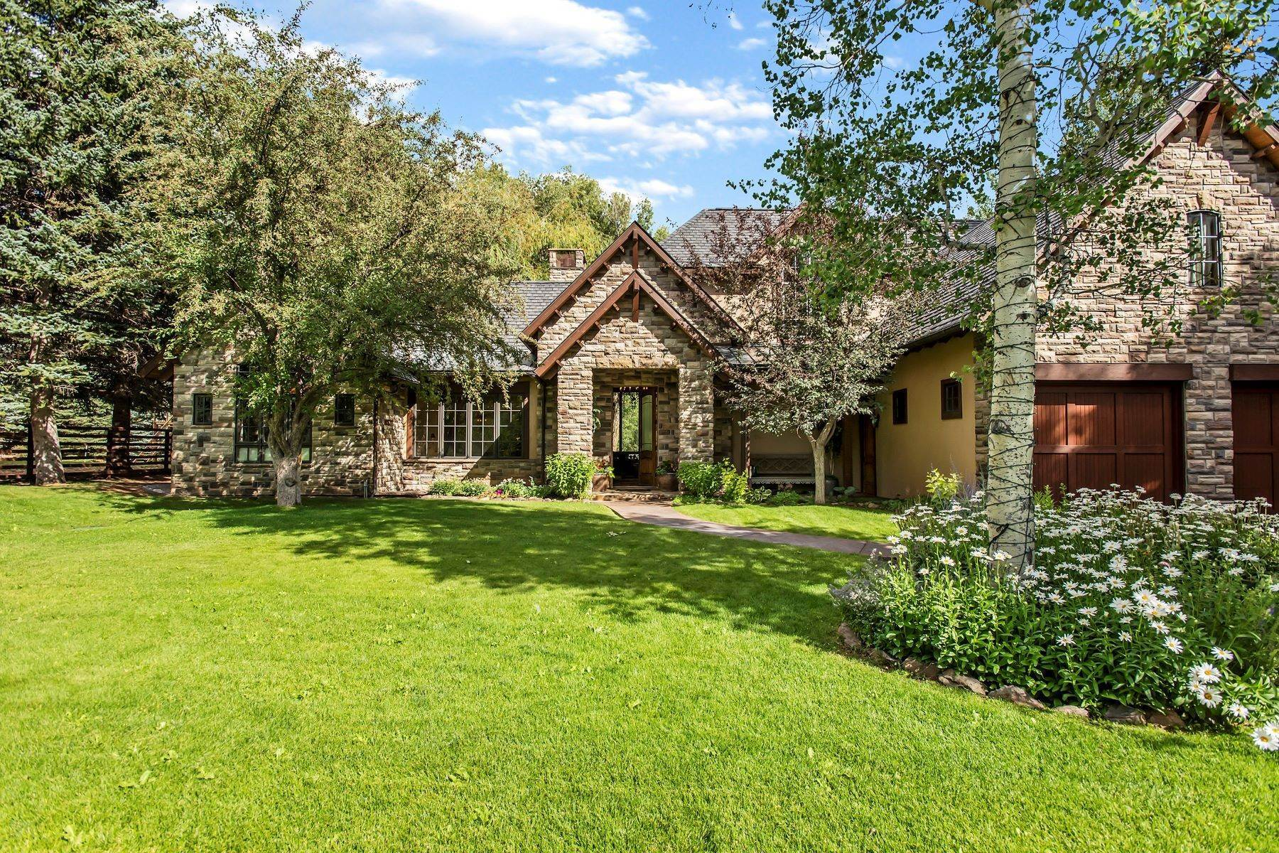 Single Family Homes for Sale at Samuelson Subdivision Lot 11 70 River Bend Road Snowmass, Colorado 81654 United States