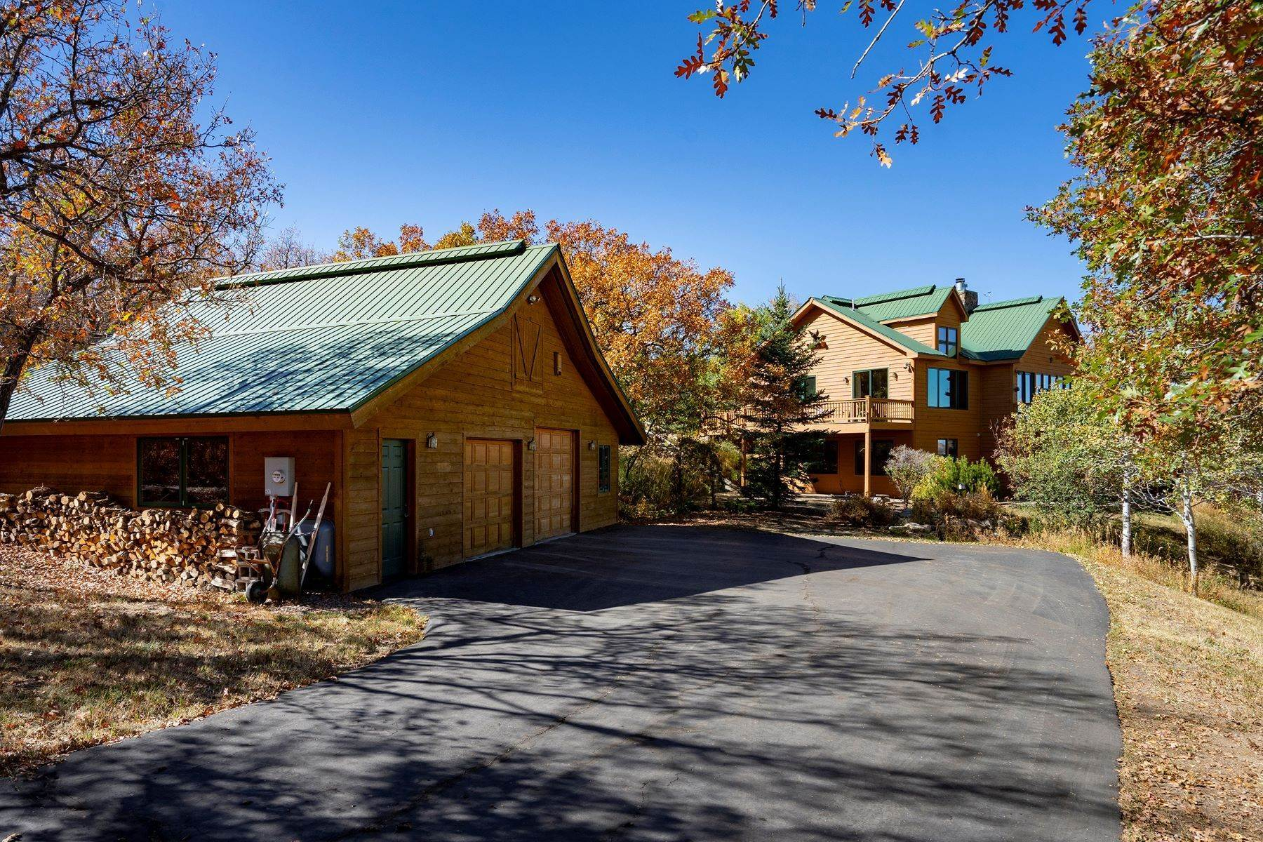 Single Family Homes for Sale at Blacktail Mountain Estates Home 28675 Yellow Jacket Drive Oak Creek, Colorado 80467 United States