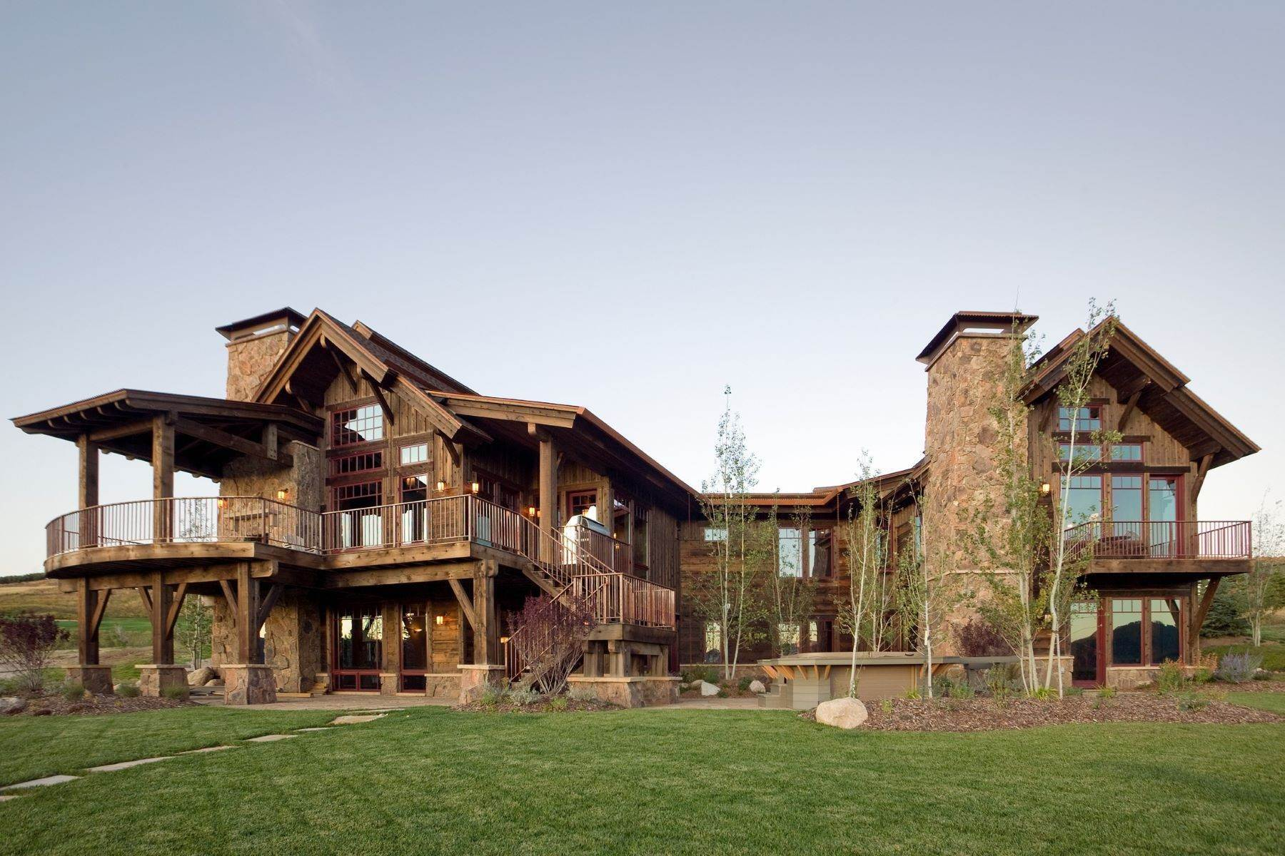 Single Family Homes for Sale at Beautiful Home at Catamount Ranch 33640 Catamount Drive Steamboat Springs, Colorado 80487 United States