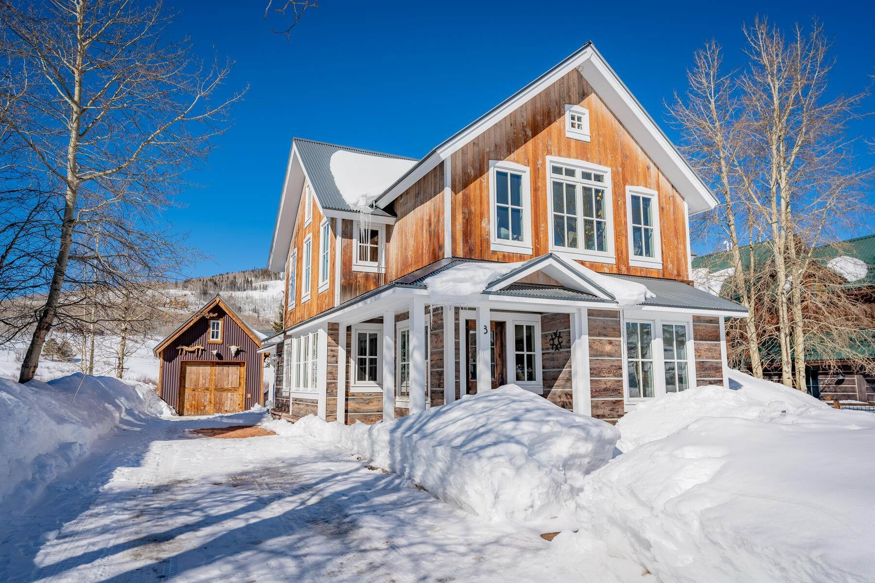 Single Family Homes for Sale at Custom Home in the Coveted West Side of Crested Butte 3 Ruth's Road Crested Butte, Colorado 81224 United States