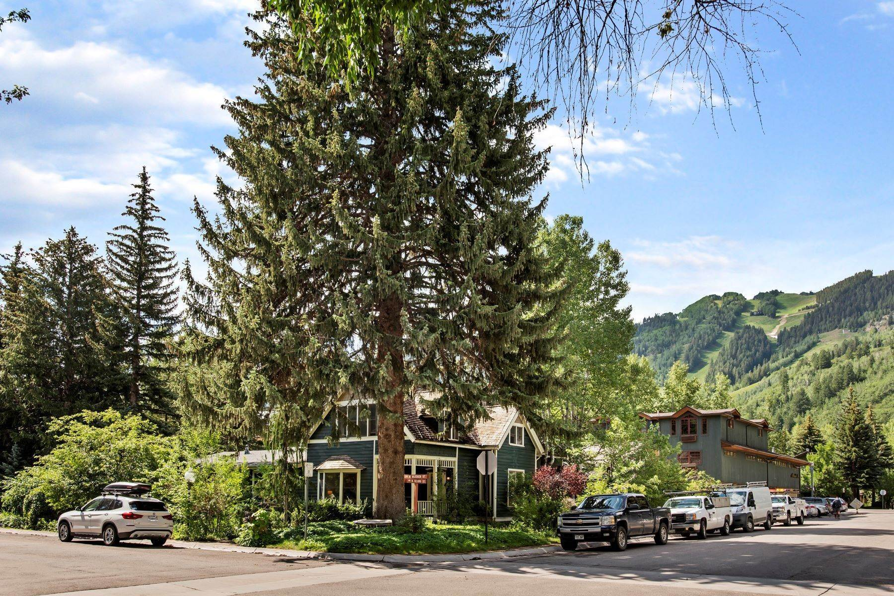 Single Family Homes for Sale at Coveted West End Location 233 W Bleeker Street Aspen, Colorado 81611 United States