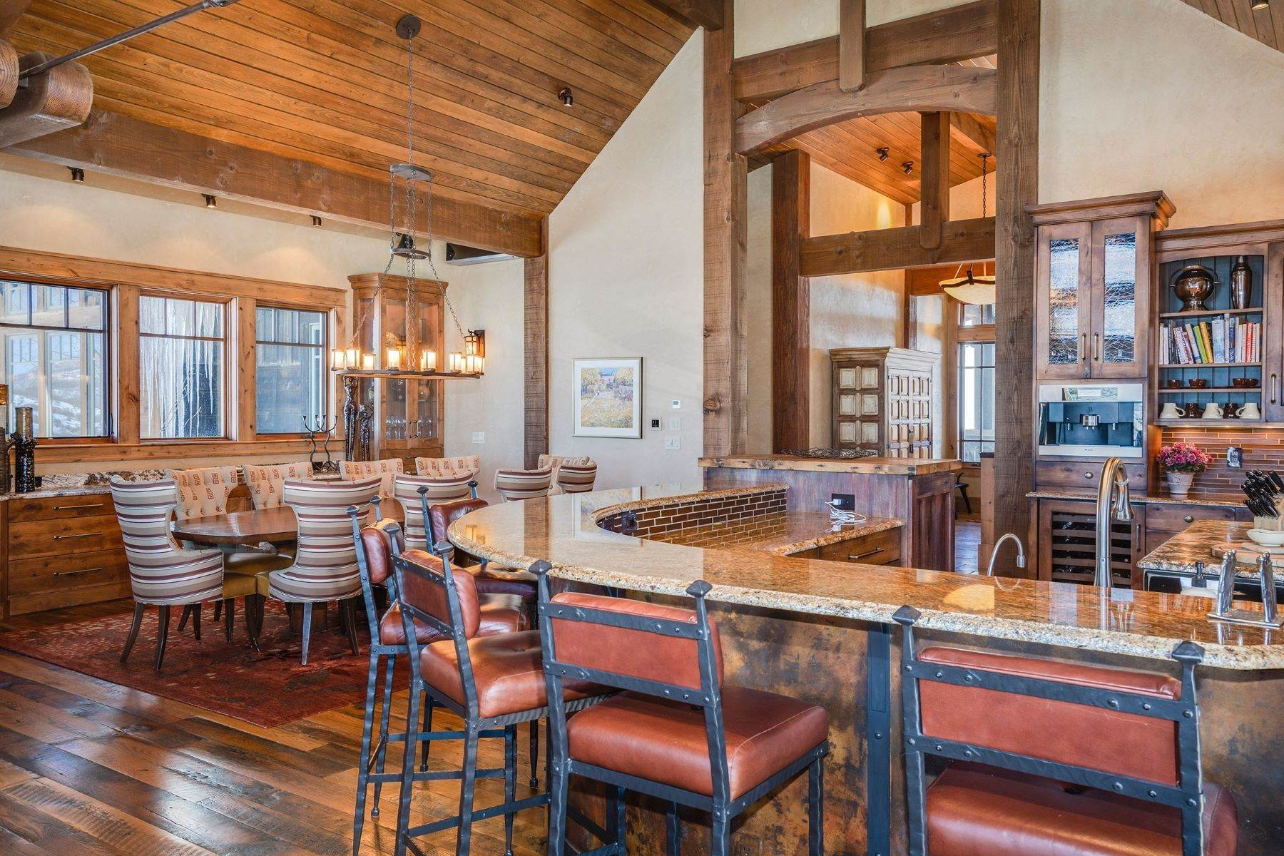 6. Single Family Homes for Sale at Beautiful Home at Catamount Ranch 33640 Catamount Drive Steamboat Springs, Colorado 80487 United States