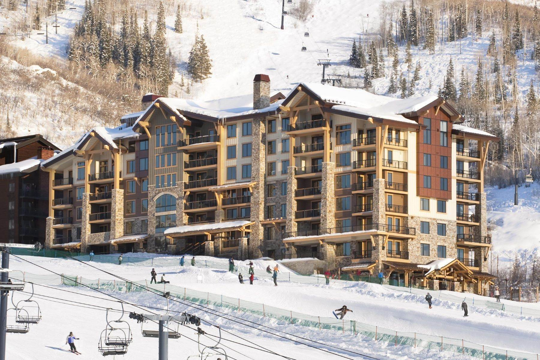 2. Condominiums for Sale at Slopeside Luxury at Edgemont 2410 Ski Trail Lane Unit #2407 Steamboat Springs, Colorado 80487 United States
