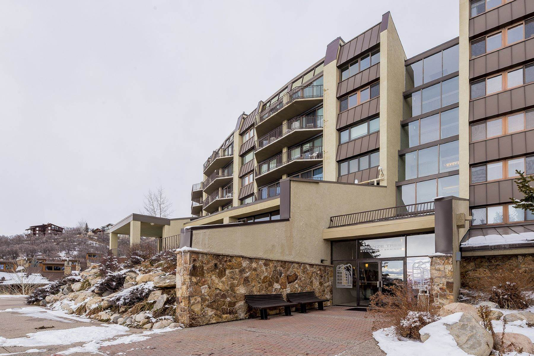 Condominiums for Sale at Bronze Tree #104 1995 Storm Meadows Drive Unit #104 Steamboat Springs, Colorado 80487 United States
