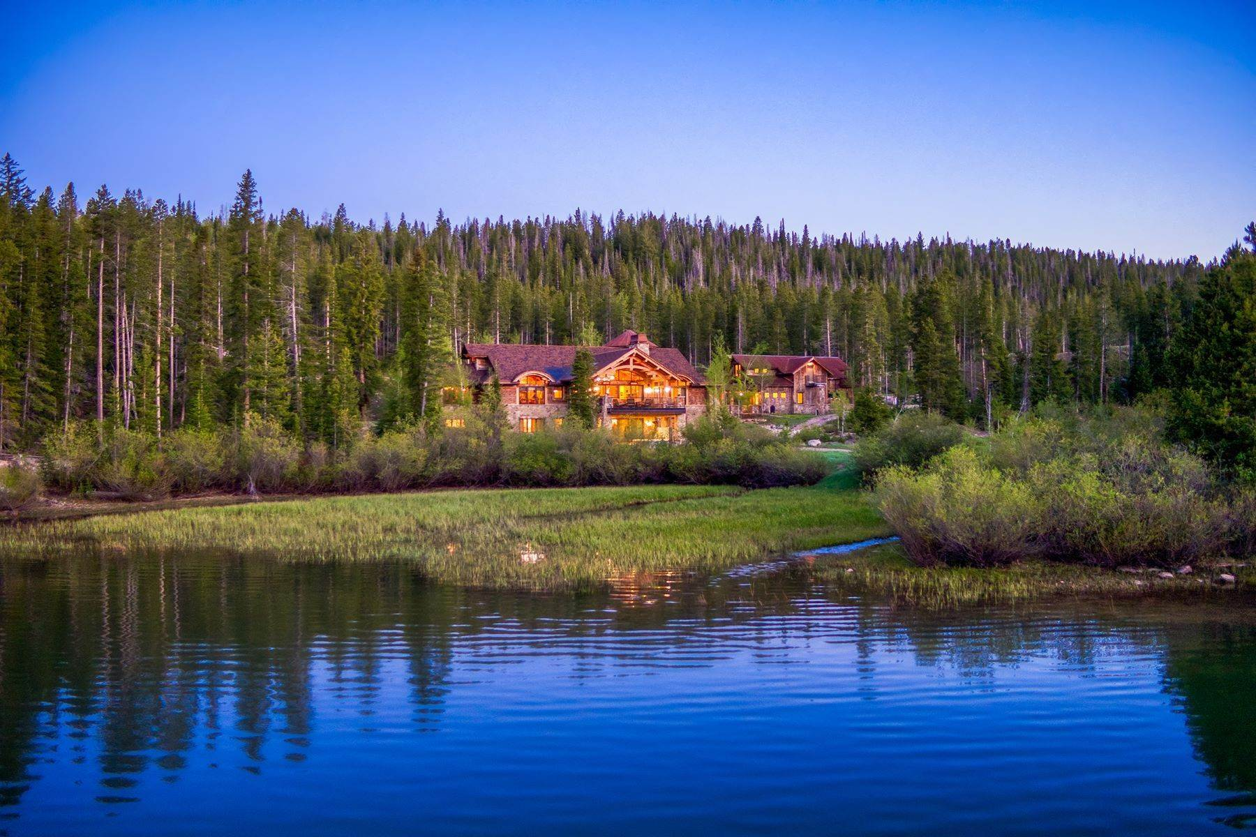 Single Family Homes for Sale at Lake Agnes Estate 2876 Grand County Road 186 Steamboat Springs, Colorado 80487 United States