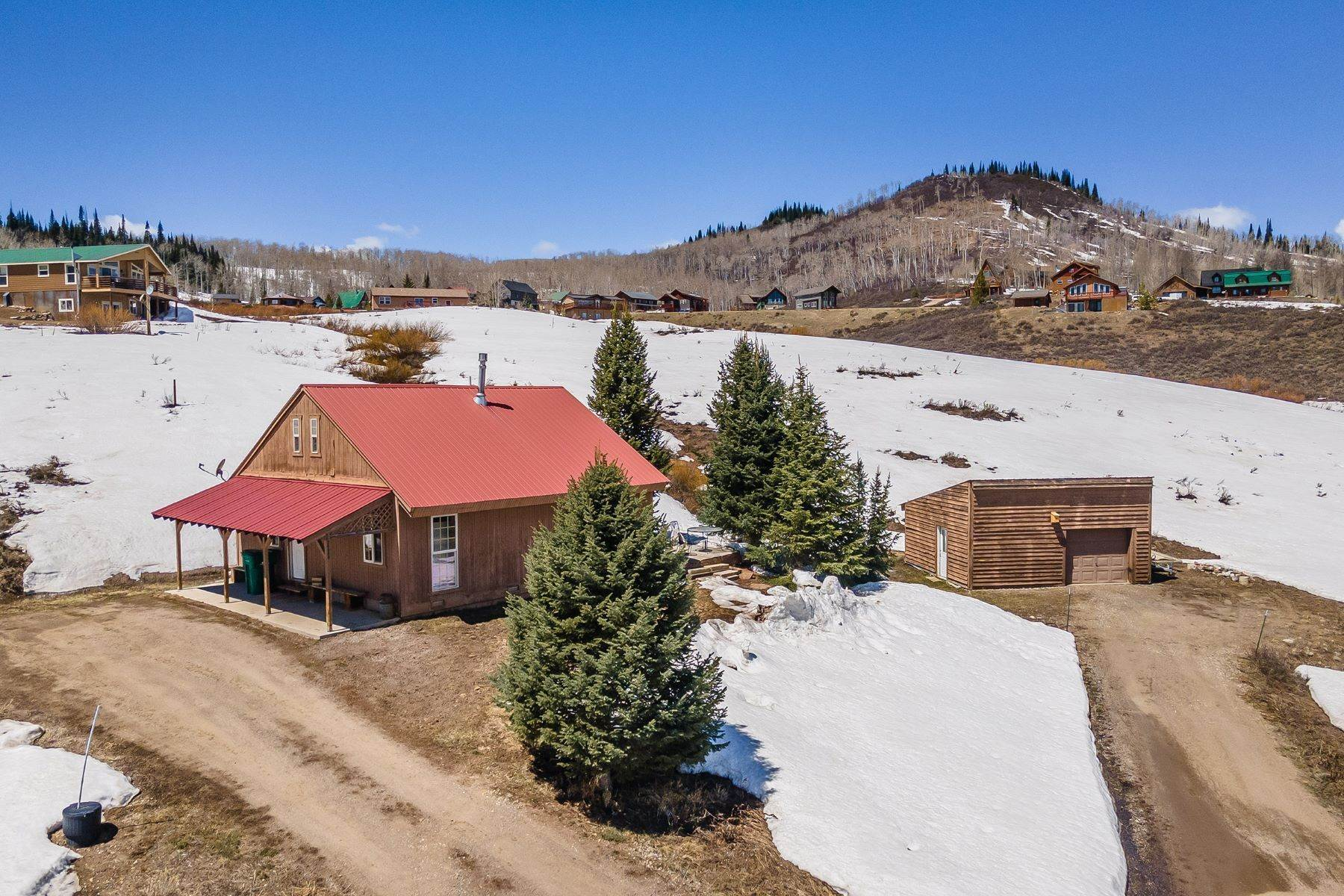 Single Family Homes for Sale at Steamboat Lakes Cabin 26960 Beaver Canyon Drive Clark, Colorado 80428 United States