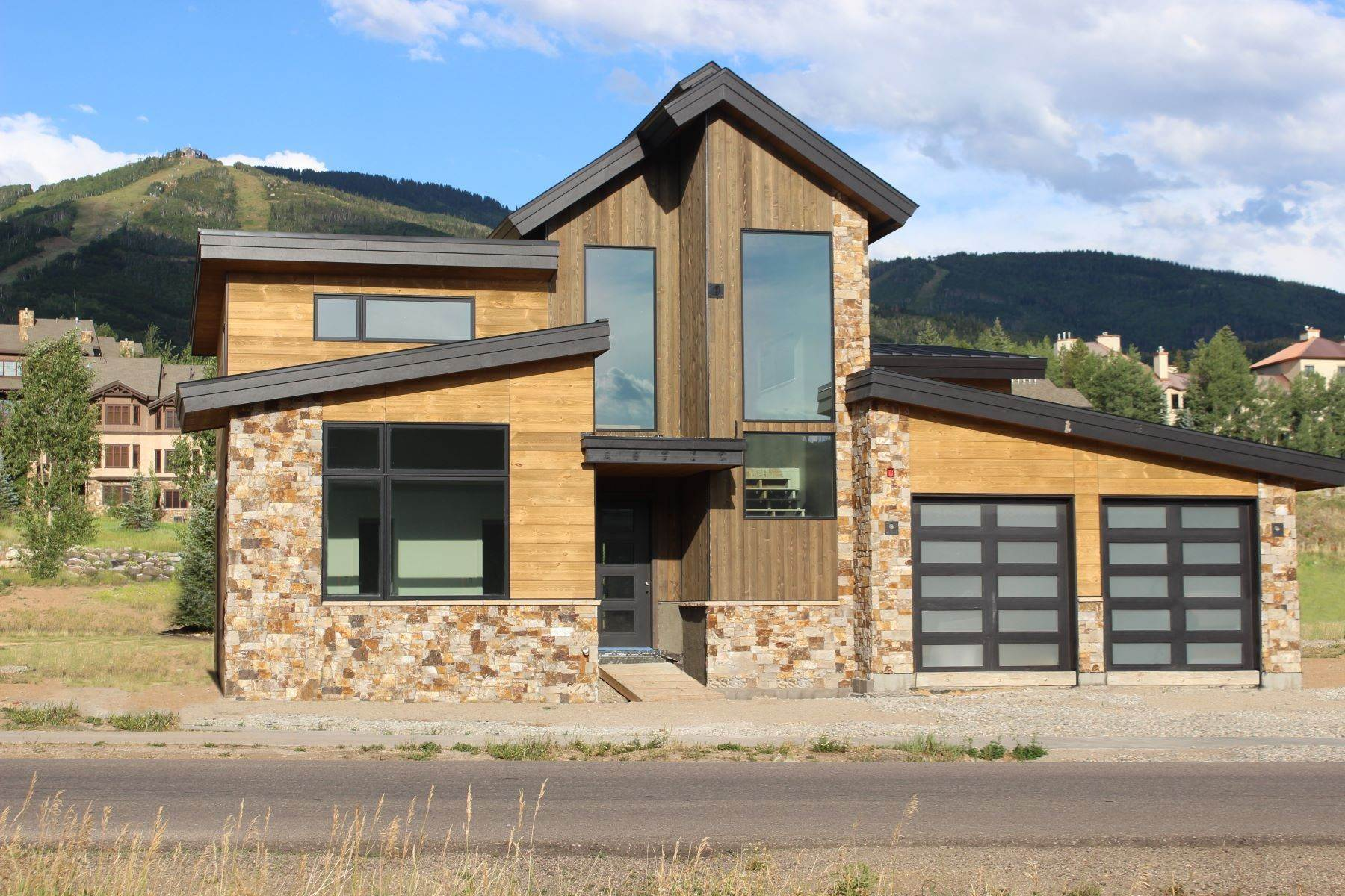 Single Family Homes for Sale at Modern Ski Retreat 2660 Bronc Buster Loop Steamboat Springs, Colorado 80487 United States