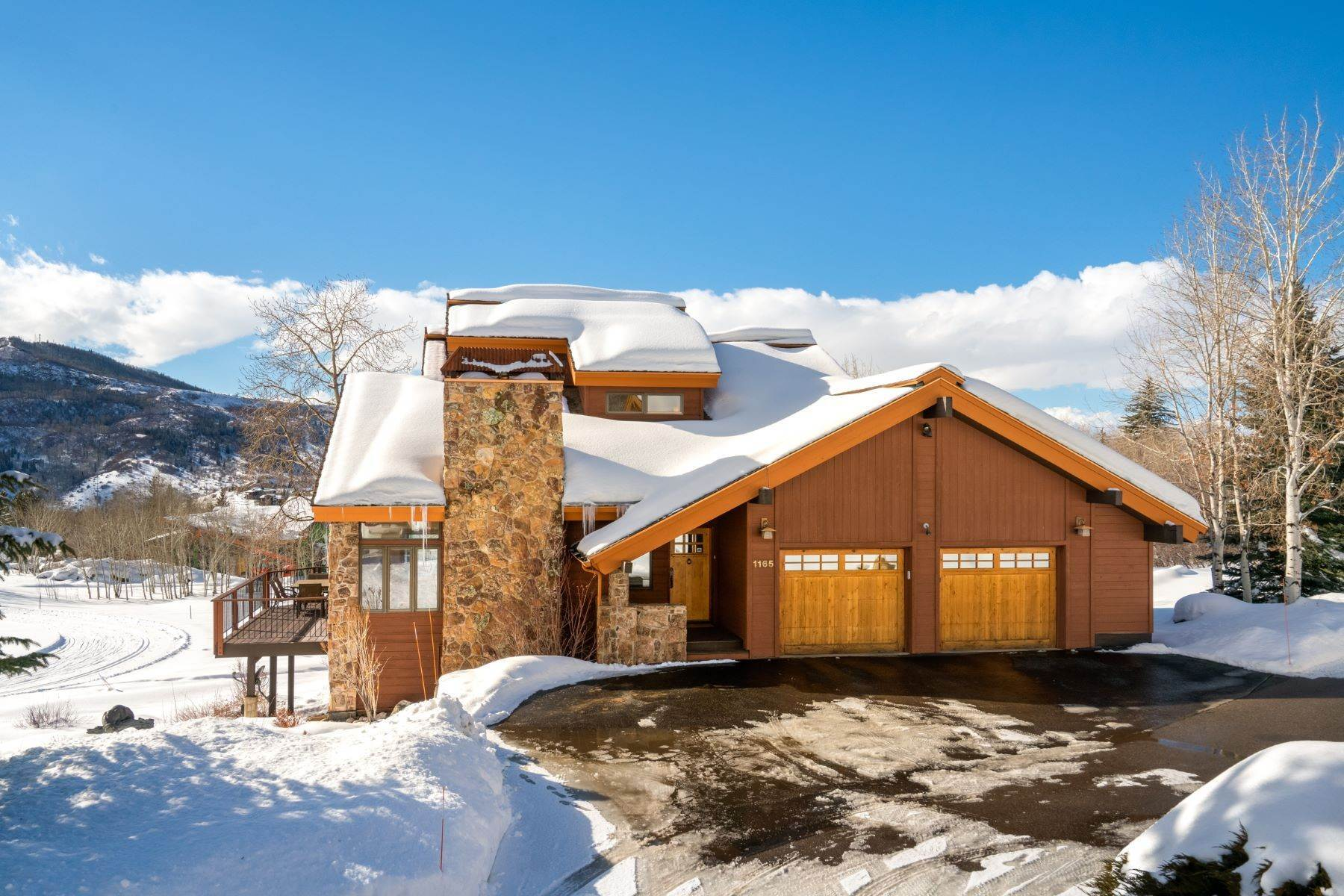 Single Family Homes por un Venta en 7th Fairway at Rollingstone 1165 Fairway Woods Steamboat Springs, Colorado 80487 Estados Unidos