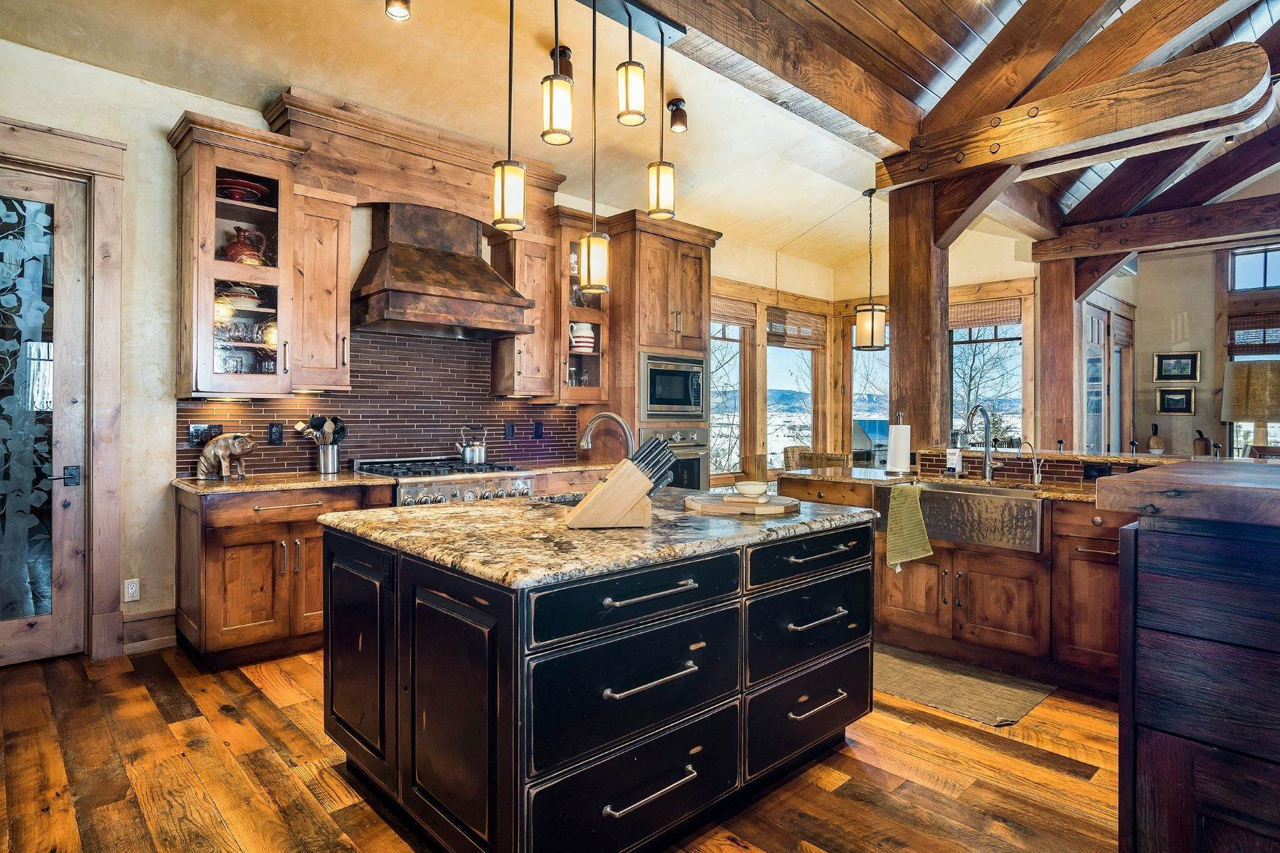 4. Single Family Homes for Sale at Beautiful Home at Catamount Ranch 33640 Catamount Drive Steamboat Springs, Colorado 80487 United States