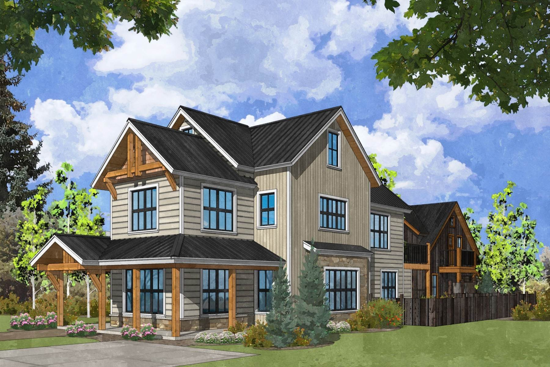 Single Family Homes for Sale at Outstanding New Five-Bedroom Home in Crested Butte 729 Whiterock Avenue Crested Butte, Colorado 81224 United States