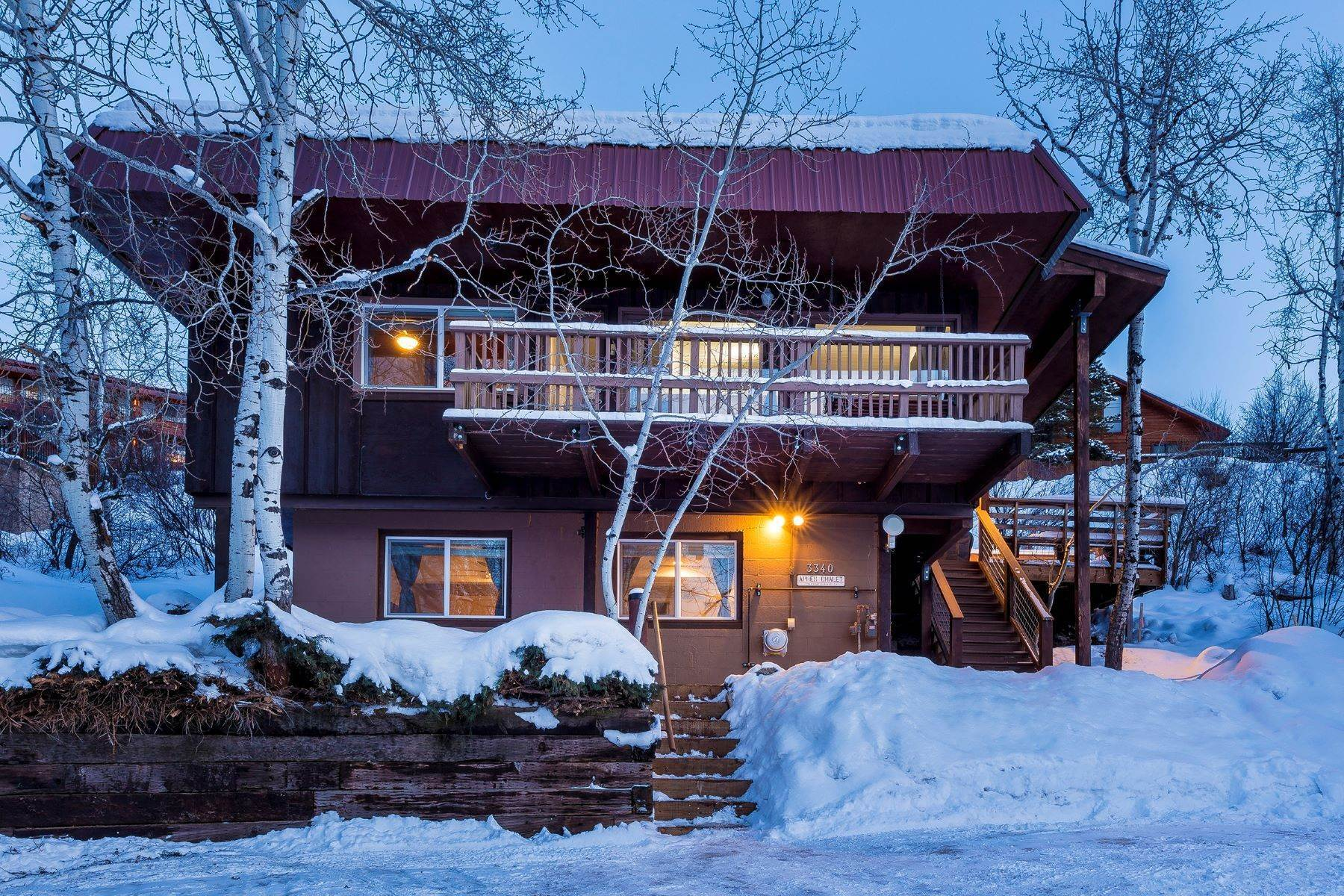 2. Duplex Homes for Sale at Apres Ski Duplex 3340 Apres Ski Way Steamboat Springs, Colorado 80487 United States
