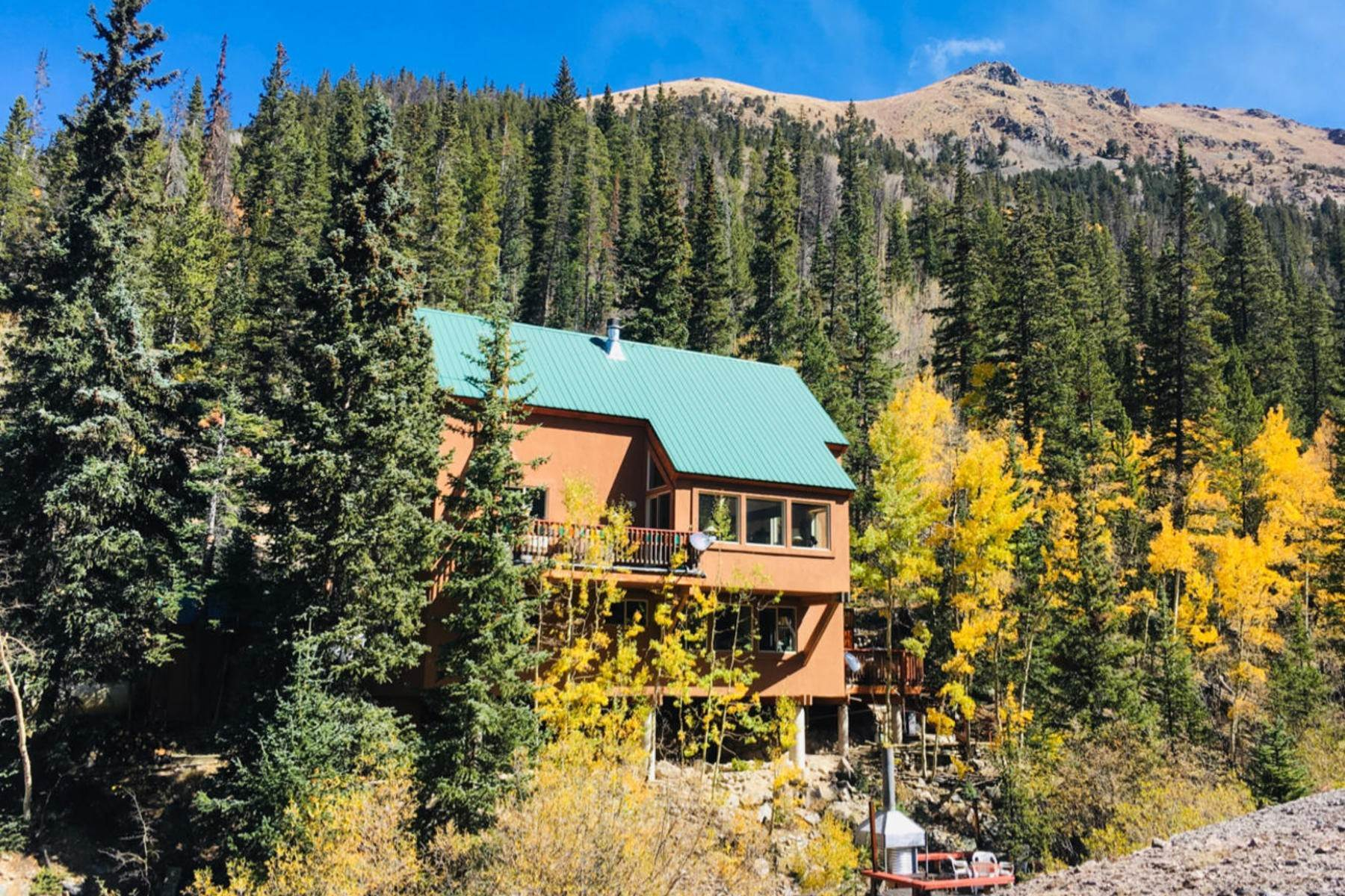 Single Family Homes for Sale at Once in a Lifetime Opportunity to Own on Grey's Peak 1781 Stevens Gulch Road Silver Plume, Colorado 80476 United States